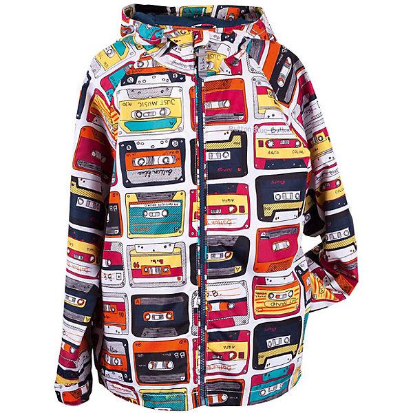 Куртка для мальчика  BUTTON BLUEВерхняя одежда<br>Куртка для мальчика  BUTTON BLUE<br>Отличная ветровка для мальчика понравится всем любителям активных прогулок! Ветровка сделана с соблюдением технологических особенностей производства спортивной одежды. Она не промокает, специальная подкладка создает комфорт при длительной носке, светоотражающие элементы обеспечивают безопасность ребенка. Водоотталкивающая ткань с оригинальным принтом делает ветровку запоминающейся. Если вы хотите купить отличную детскую ветровку недорого и не сомневаться в ее качестве и комфорте, ветровка от Button Blue - то, что вам нужно!<br>Состав:<br>Ткань  верха: 100% полиэстер, подклад: 100% полиэстер<br>Ширина мм: 356; Глубина мм: 10; Высота мм: 245; Вес г: 519; Цвет: белый; Возраст от месяцев: 60; Возраст до месяцев: 72; Пол: Мужской; Возраст: Детский; Размер: 116,158,152,146,140,134,128,110,104,98,122; SKU: 5524081;