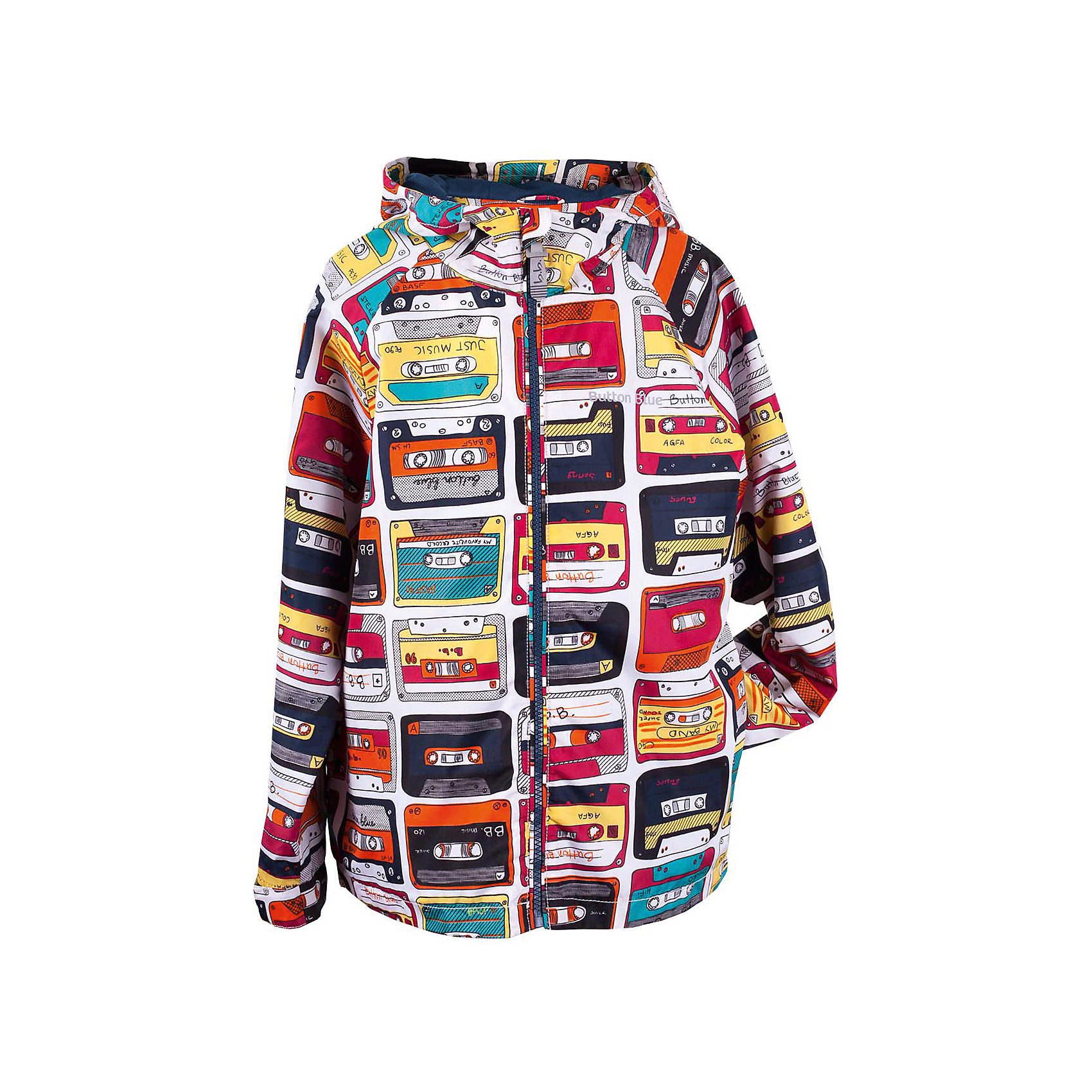 Куртка для мальчика  BUTTON BLUEВерхняя одежда<br>Куртка для мальчика  BUTTON BLUE<br>Отличная ветровка для мальчика понравится всем любителям активных прогулок! Ветровка сделана с соблюдением технологических особенностей производства спортивной одежды. Она не промокает, специальная подкладка создает комфорт при длительной носке, светоотражающие элементы обеспечивают безопасность ребенка. Водоотталкивающая ткань с оригинальным принтом делает ветровку запоминающейся. Если вы хотите купить отличную детскую ветровку недорого и не сомневаться в ее качестве и комфорте, ветровка от Button Blue - то, что вам нужно!<br>Состав:<br>Ткань  верха: 100% полиэстер, подклад: 100% полиэстер<br><br>Ширина мм: 356<br>Глубина мм: 10<br>Высота мм: 245<br>Вес г: 519<br>Цвет: разноцветный<br>Возраст от месяцев: 144<br>Возраст до месяцев: 156<br>Пол: Мужской<br>Возраст: Детский<br>Размер: 158,116,98,104,110,122,128,134,140,146,152<br>SKU: 5524081