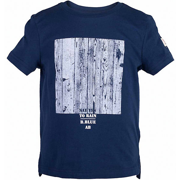 Футболка для мальчика  BUTTON BLUEФутболки, поло и топы<br>Футболка для мальчика  BUTTON BLUE<br>Синяя футболка с крупным принтом - не только базовая вещь в гардеробе ребенка, но и основа модного летнего образа! Если вы решили купить недорогую футболку для мальчика, выберете футболку от Button Blue! Низкая цена изделия не окажет влияния на бюджет семьи, позволив создать интересный гардероб для долгожданных каникул! Высокое качество подарит удобство, комфорт и принесет удовольствие от покупки.<br>Состав:<br>100%  хлопок<br><br>Ширина мм: 199<br>Глубина мм: 10<br>Высота мм: 161<br>Вес г: 151<br>Цвет: синий<br>Возраст от месяцев: 144<br>Возраст до месяцев: 156<br>Пол: Мужской<br>Возраст: Детский<br>Размер: 158,152,146,140,134,128,122,116,110,104,98<br>SKU: 5524221