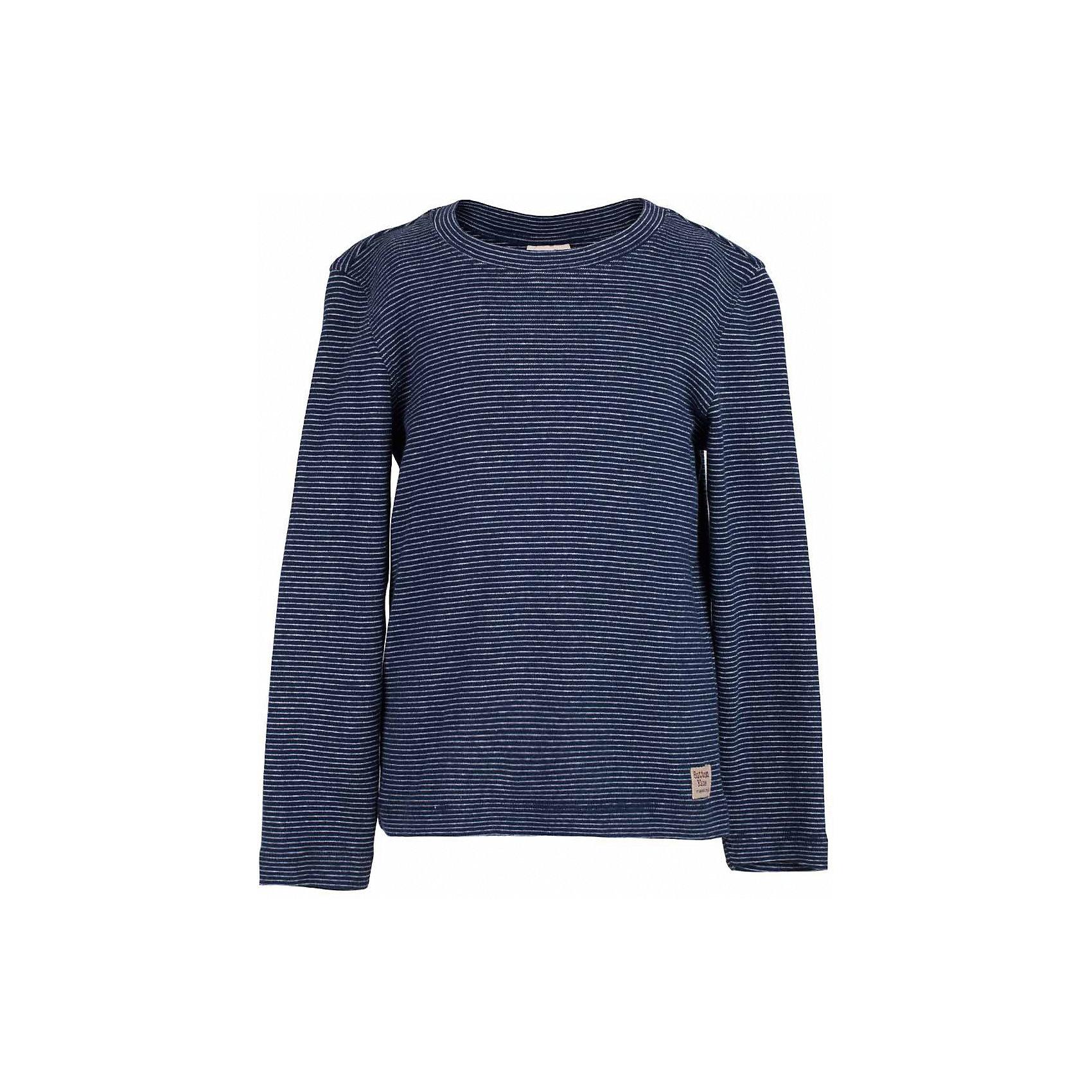 Футболка с длинным рукавом для мальчика  BUTTON BLUEФутболки с длинным рукавом<br>Футболка для мальчика  BUTTON BLUE<br>Синяя футболка в полоску - основа модного образа! Если вы решили купить недорогую футболку для мальчика, которая и весной, и летом будет весьма востребована, выберете полосатую футболку с длинным рукавом от Button Blue! Низкая цена изделия не окажет влияния на бюджет семьи, позволив создать интересный и разнообразный гардероб ребенка.<br>Состав:<br>95% хлопок 5% эластан<br><br>Ширина мм: 199<br>Глубина мм: 10<br>Высота мм: 161<br>Вес г: 151<br>Цвет: синий<br>Возраст от месяцев: 144<br>Возраст до месяцев: 156<br>Пол: Мужской<br>Возраст: Детский<br>Размер: 158,98,104,110,116,122,128,134,140,146,152<br>SKU: 5524332