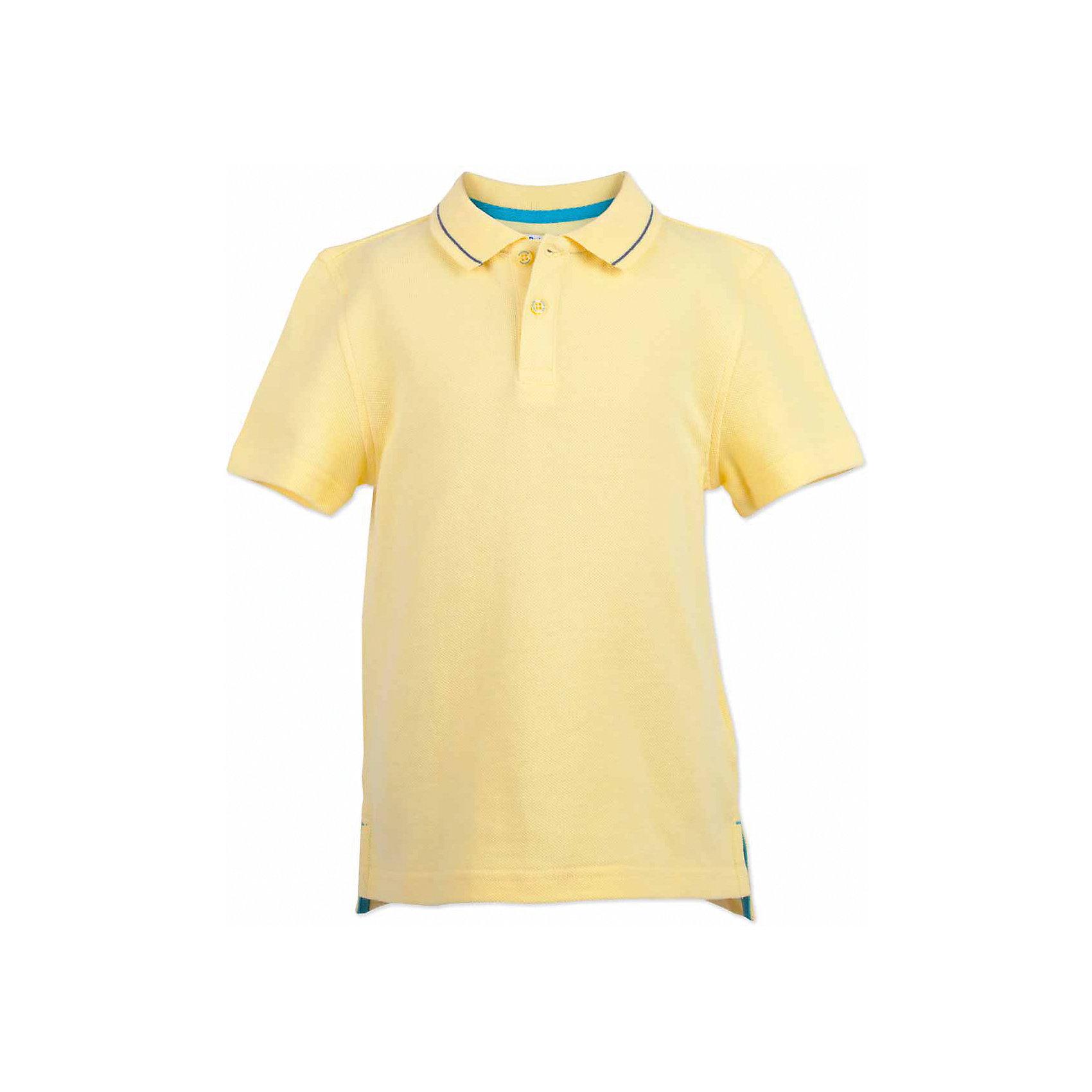 Поло для мальчика  BUTTON BLUEФутболки, поло и топы<br>Поло для мальчика  BUTTON BLUE<br>Яркая футболка-поло - изделие из разряда must have! Это не только базовая вещь в гардеробе ребенка, но и залог хорошего летнего настроения! Если вы решили купить недорогую  футболку-поло для мальчика, выберете желтую модель от Button Blue и ваш ребенок будет доволен! Низкая цена не окажет влияния на бюджет семьи, позволив создать интересный базовый гардероб для долгожданных каникул!<br>Состав:<br>100%  хлопок<br><br>Ширина мм: 199<br>Глубина мм: 10<br>Высота мм: 161<br>Вес г: 151<br>Цвет: желтый<br>Возраст от месяцев: 96<br>Возраст до месяцев: 108<br>Пол: Мужской<br>Возраст: Детский<br>Размер: 134,158,140,146,152,98,104,110,116,122,128<br>SKU: 5524368