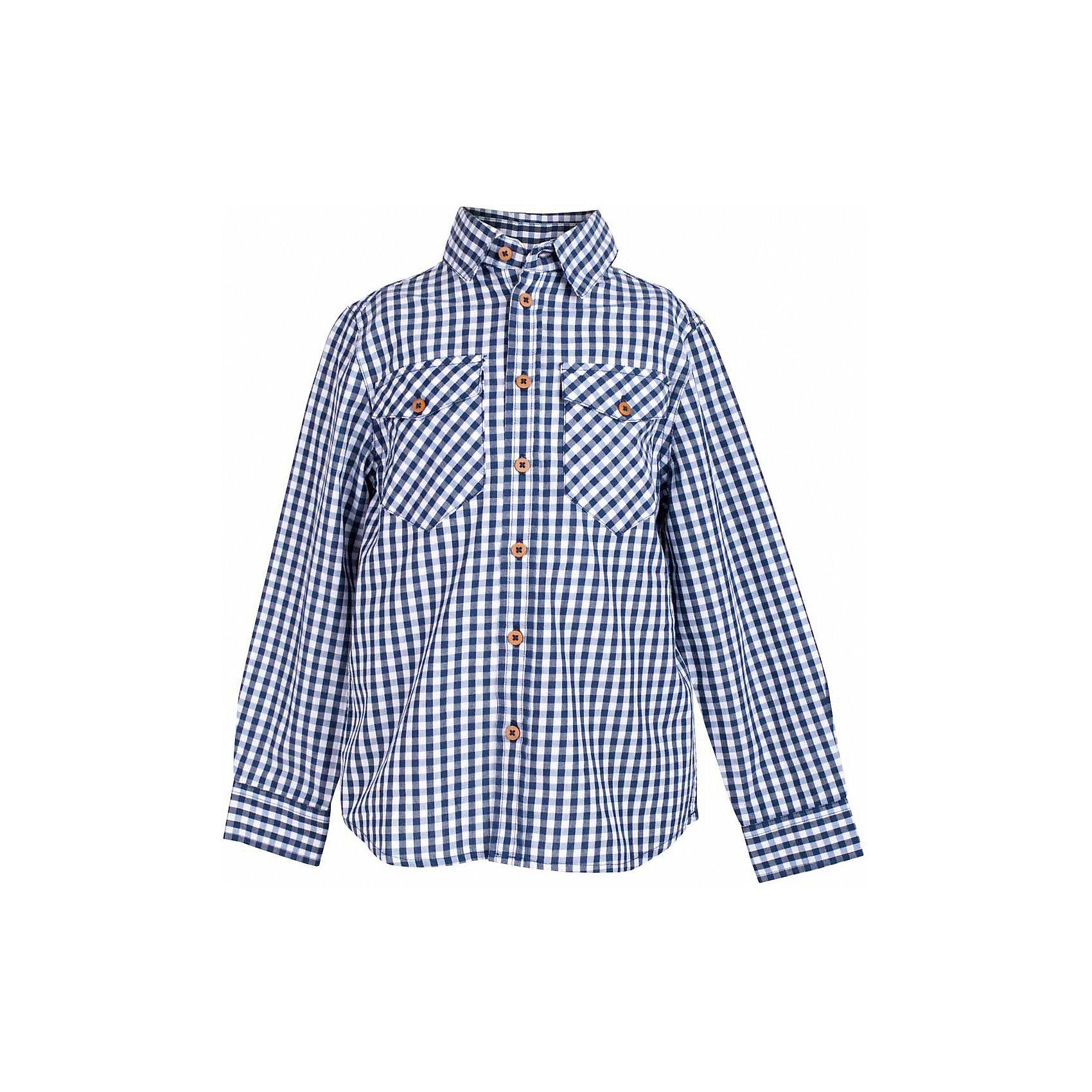 Рубашка для мальчика  BUTTON BLUEБлузки и рубашки<br>Рубашка для мальчика  BUTTON BLUE<br>Клетчатая рубашка - яркий акцент повседневного образа ребенка. Купить рубашку для мальчика стоит ранней весной, и сочетать ее с футболкой, толстовкой, джемпером, создавая модные многослойные решения. И для лета яркая рубашка в клетку из 100% хлопка - отличный вариант. С брюками, шортами, джинсами она будет выглядеть свежо и стильно!<br>Состав:<br>100%  хлопок<br><br>Ширина мм: 174<br>Глубина мм: 10<br>Высота мм: 169<br>Вес г: 157<br>Цвет: синий<br>Возраст от месяцев: 24<br>Возраст до месяцев: 36<br>Пол: Мужской<br>Возраст: Детский<br>Размер: 158,152,146,140,134,128,122,116,110,104,98<br>SKU: 5524464