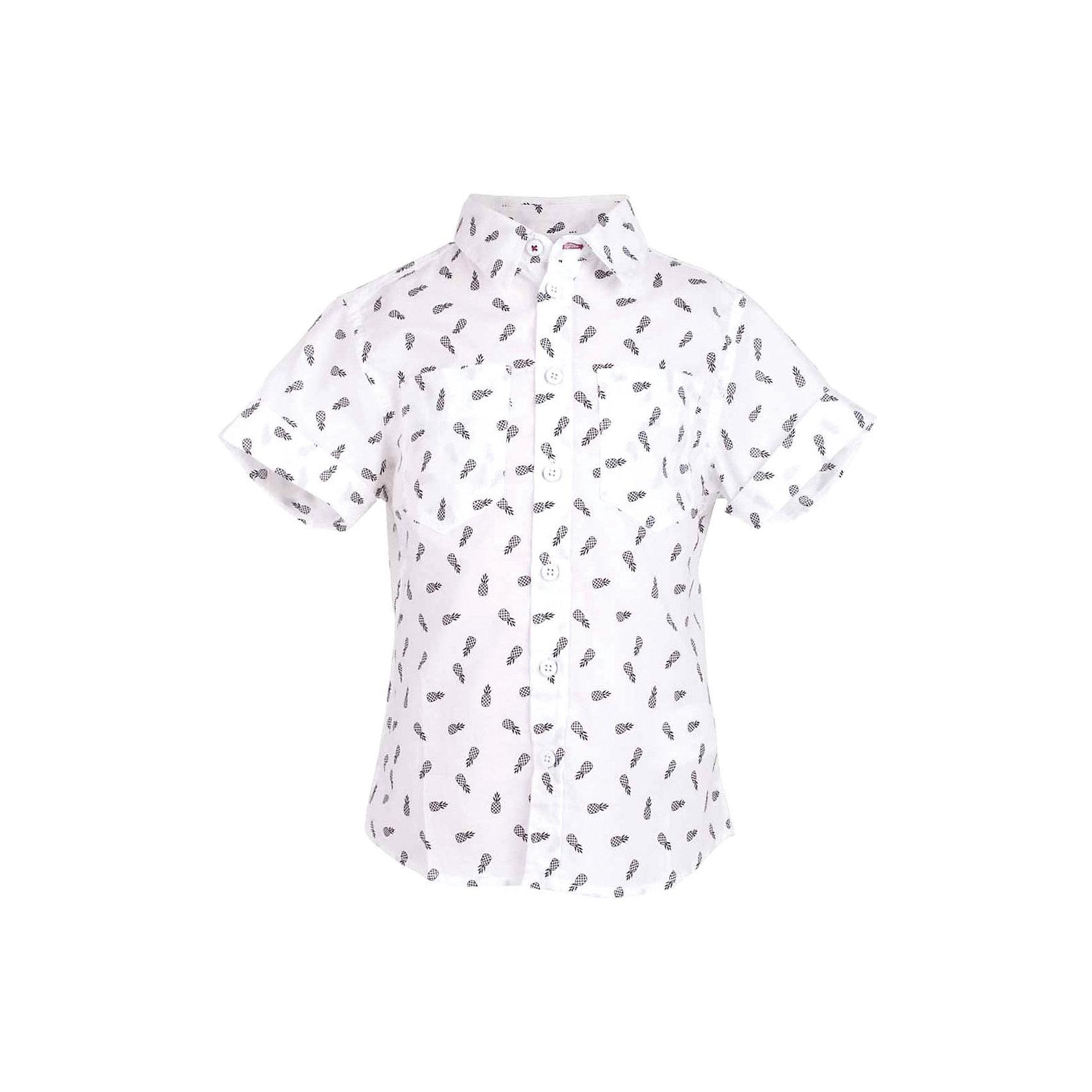 Сорочка для мальчика  BUTTON BLUEБлузки и рубашки<br>Сорочка для мальчика  BUTTON BLUE<br>Белая рубашка с модным мелким рисунком - яркий акцент повседневного образа ребенка. Купить рубашку для мальчика стоит ранней весной, и сочетать ее с футболкой, толстовкой, джемпером, создавая модные многослойные решения. И для лета рубашка с коротким рукавом из 100% хлопка - отличный вариант. С брюками, шортами, джинсами она будет выглядеть свежо и стильно!<br>Состав:<br>100%  хлопок<br><br>Ширина мм: 174<br>Глубина мм: 10<br>Высота мм: 169<br>Вес г: 157<br>Цвет: разноцветный<br>Возраст от месяцев: 144<br>Возраст до месяцев: 156<br>Пол: Мужской<br>Возраст: Детский<br>Размер: 158,146,98,104,110,116,122,128,134,140,152<br>SKU: 5524476