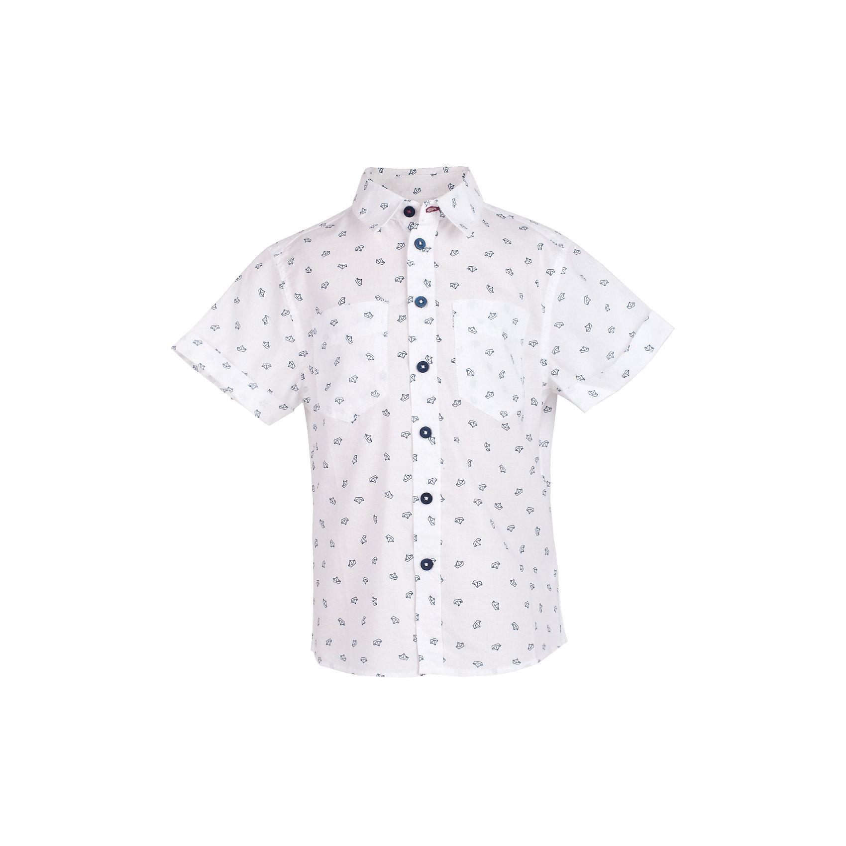 Сорочка для мальчика  BUTTON BLUEБлузки и рубашки<br>Сорочка для мальчика  BUTTON BLUE<br>Белая рубашка с модным мелким рисунком - яркий акцент повседневного образа ребенка. Купить рубашку для мальчика стоит ранней весной, и сочетать ее с футболкой, толстовкой, джемпером, создавая модные многослойные решения. И для лета рубашка с коротким рукавом из 100% хлопка - отличный вариант. С брюками, шортами, джинсами она будет выглядеть свежо и стильно!<br>Состав:<br>100%  хлопок<br><br>Ширина мм: 174<br>Глубина мм: 10<br>Высота мм: 169<br>Вес г: 157<br>Цвет: разноцветный<br>Возраст от месяцев: 144<br>Возраст до месяцев: 156<br>Пол: Мужской<br>Возраст: Детский<br>Размер: 158,98,104,110,116,122,128,134,140,146,152<br>SKU: 5524488