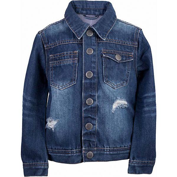 Куртка джинсовая для мальчика  BUTTON BLUEВерхняя одежда<br>Куртка джинсовая для мальчика  BUTTON BLUE<br>Джинсовая куртка для мальчика - базовая вещь весеннего-летнего гардероба! Она отлично сочетается с брюками, шортами, бриджами, делая комплект интересным и завершенным. Вы хотите, чтобы ваш ребенок был в тренде? Вы предпочитаете купить джинсовую куртку недорого, но не сомневаться в ее качестве и комфорте? Тогда джинсовая куртка от Button Blue с модными потертостями, заминами, варкой - лучший вариант!<br>Состав:<br>100%  хлопок<br><br>Ширина мм: 356<br>Глубина мм: 10<br>Высота мм: 245<br>Вес г: 519<br>Цвет: синий<br>Возраст от месяцев: 24<br>Возраст до месяцев: 36<br>Пол: Мужской<br>Возраст: Детский<br>Размер: 98,158,152,146,140,134,128,122,116,110,104<br>SKU: 5524521