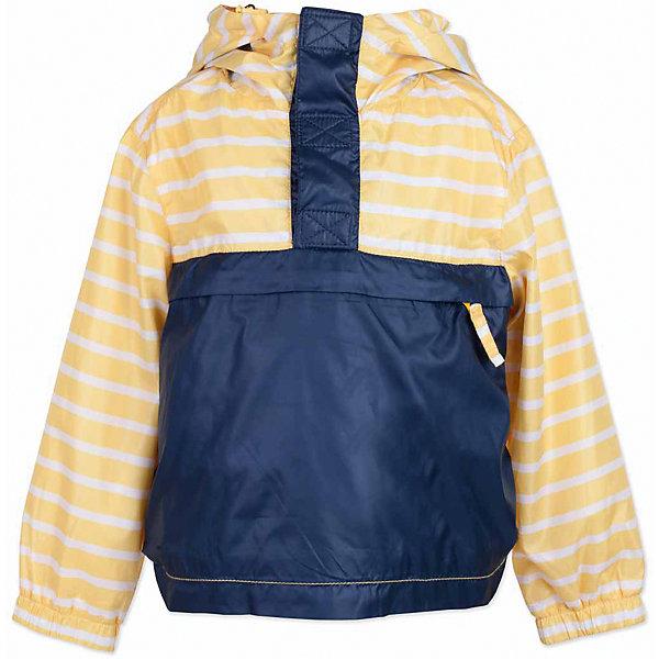 Куртка для мальчика  BUTTON BLUEВерхняя одежда<br>Куртка для мальчика  BUTTON BLUE<br>Яркая ветровка - прекрасное решение для летней прохлады. Модная форма, динамичная комбинация глади и полоски, продуманные детали подарят отличное настроение. Капюшон надежно защитит от дождя и ветра. Хлопковая трикотажная подкладка создаст уют. Если вы решили купить стильную ветровку для мальчика недорого, но хотите быть уверены в ее комфорте, качестве, высоких потребительских свойствах, полосатая ветровка Button Blue - то, что нужно!<br>Состав:<br>Ткань  верха: 100% полиэстер, подклад: 100% хлопок/ 100% полиэстер<br>Ширина мм: 356; Глубина мм: 10; Высота мм: 245; Вес г: 519; Цвет: желтый; Возраст от месяцев: 84; Возраст до месяцев: 96; Пол: Мужской; Возраст: Детский; Размер: 128,134,122,116,110,104,98,140; SKU: 5524542;