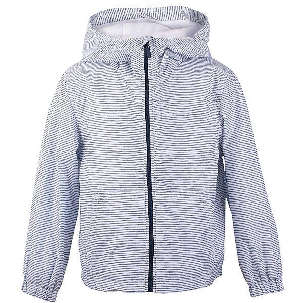 Куртка для мальчика  BUTTON BLUEВерхняя одежда<br>Куртка для мальчика  BUTTON BLUE<br>Яркая ветровка - прекрасное решение для летней прохлады. Модная форма, динамичный рисунок ткани, продуманные детали подарят отличное настроение. Капюшон надежно защитит от дождя и ветра. Хлопковая трикотажная подкладка создаст уют. Если вы решили купить стильную ветровку для мальчика недорого, но хотите быть уверены в ее комфорте, качестве, высоких потребительских свойствах, полосатая ветровка от Button Blue - то, что нужно!<br>Состав:<br>Ткань  верха: 100% полиэстер, подклад: 100% хлопок/ 100% полиэстер<br>Ширина мм: 356; Глубина мм: 10; Высота мм: 245; Вес г: 519; Цвет: белый; Возраст от месяцев: 24; Возраст до месяцев: 36; Пол: Мужской; Возраст: Детский; Размер: 98,158,152,146,140,134,128,122,116,110,104; SKU: 5524551;
