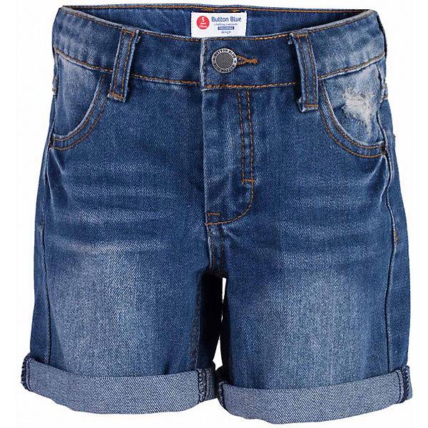 Шорты джинсовые для мальчика  BUTTON BLUEДжинсовая одежда<br>Шорты для мальчика  BUTTON BLUE<br>Классные джинсовые шорты с потертостями, варкой и повреждениями - прекрасное решение на каждый день! И дома, и в лагере, и на спортивной площадке эти шорты для мальчика обеспечат комфорт и соответствие модным трендам. Купить недорого детские шорты от Button Blue , значит, сделать каждый летний день ребенка радостным и беззаботным!<br>Состав:<br>100%  хлопок<br>Ширина мм: 191; Глубина мм: 10; Высота мм: 175; Вес г: 273; Цвет: синий; Возраст от месяцев: 24; Возраст до месяцев: 36; Пол: Мужской; Возраст: Детский; Размер: 98,158,152,146,140,134,128,122,116,110,104; SKU: 5524644;