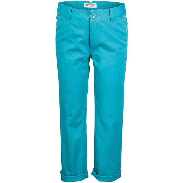 Брюки для мальчика  BUTTON BLUEБрюки<br>Брюки для мальчика  BUTTON BLUE<br>Яркие брюки - залог стильного образа для каждого дня лета. Отличные брюки из хлопка с эластаном гарантируют прекрасный внешний вид, комфорт и свободу движений. В компании с любой майкой, футболкой, джемпером брюки составят достойный летний комплект. Если вы хотите купить недорогие детские брюки, не сомневаясь в их качестве, высоких потребительских свойствах и соответствии модным трендам, брюки для мальчика от Button Blue - лучший вариант!<br>Состав:<br>97% хлопок 3%эластан<br><br>Ширина мм: 215<br>Глубина мм: 88<br>Высота мм: 191<br>Вес г: 336<br>Цвет: бирюзовый<br>Возраст от месяцев: 60<br>Возраст до месяцев: 72<br>Пол: Мужской<br>Возраст: Детский<br>Размер: 116,140,110,158,152,146,134,128,122<br>SKU: 5524679