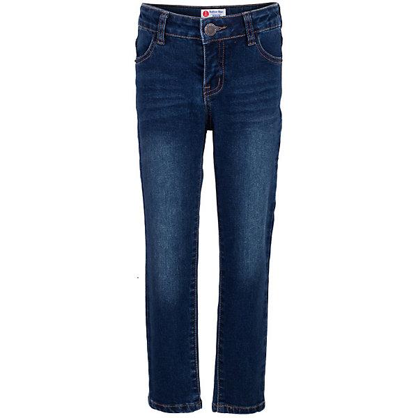 Джинсы для мальчика  BUTTON BLUEДжинсовая одежда<br>Джинсы для мальчика  BUTTON BLUE<br>Классные синие джинсы с потертостями и повреждениями — гарантия модного современного образа! Хороший крой, удобная посадка на фигуре подарят мальчику комфорт и свободу движений. Если вы хотите купить ребенку недорогие модные зауженные джинсы, модель от Button Blue - прекрасный выбор!<br>Состав:<br>75% хлопок 23%полиэстер 2%эластан<br><br>Ширина мм: 215<br>Глубина мм: 88<br>Высота мм: 191<br>Вес г: 336<br>Цвет: синий<br>Возраст от месяцев: 24<br>Возраст до месяцев: 36<br>Пол: Мужской<br>Возраст: Детский<br>Размер: 98,158,152,146,140,134,128,122,116,110,104<br>SKU: 5524710