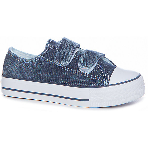 Кеды для мальчика  BUTTON BLUEКеды<br>Кеды для мальчика  BUTTON BLUE<br>Текстильная спортивная обувь - хит весенне-летнего сезона! Кеды, кроссовки, слипоны с легкостью вытеснили из детского гардероба сандалии и мокасины. Синие джинсовые кеды от Button Blue - прекрасный летний вариант. Если вы хотите приобрести качественные и очень стильные кеды для мальчика, вам стоит купить детские кеды на липучке. Практичный и очень удобный вариант, наверняка, понравится ребенку.<br>Состав:<br>верх: джинса подклад: хлопок стелька: хлопок подошва: резина<br>Ширина мм: 250; Глубина мм: 150; Высота мм: 150; Вес г: 250; Цвет: синий; Возраст от месяцев: 156; Возраст до месяцев: 1188; Пол: Мужской; Возраст: Детский; Размер: 38,26,37,36,35,34,33,32,31,30,29,28,27; SKU: 5524722;