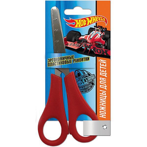 Детские ножницы 13 см, с блистером Hot Wheels, MattelШкольные аксессуары<br>Детские ножницы 13 см, с блистером. Блистер открытый. Можно проверить работу ножниц не доставая из упаковки. Пластиковые ручки, безопасно скругленные лезвия, с дизайном  Mattel Hot Wheels<br><br>Ширина мм: 15<br>Глубина мм: 1<br>Высота мм: 70<br>Вес г: 26<br>Возраст от месяцев: 36<br>Возраст до месяцев: 144<br>Пол: Мужской<br>Возраст: Детский<br>SKU: 5525063