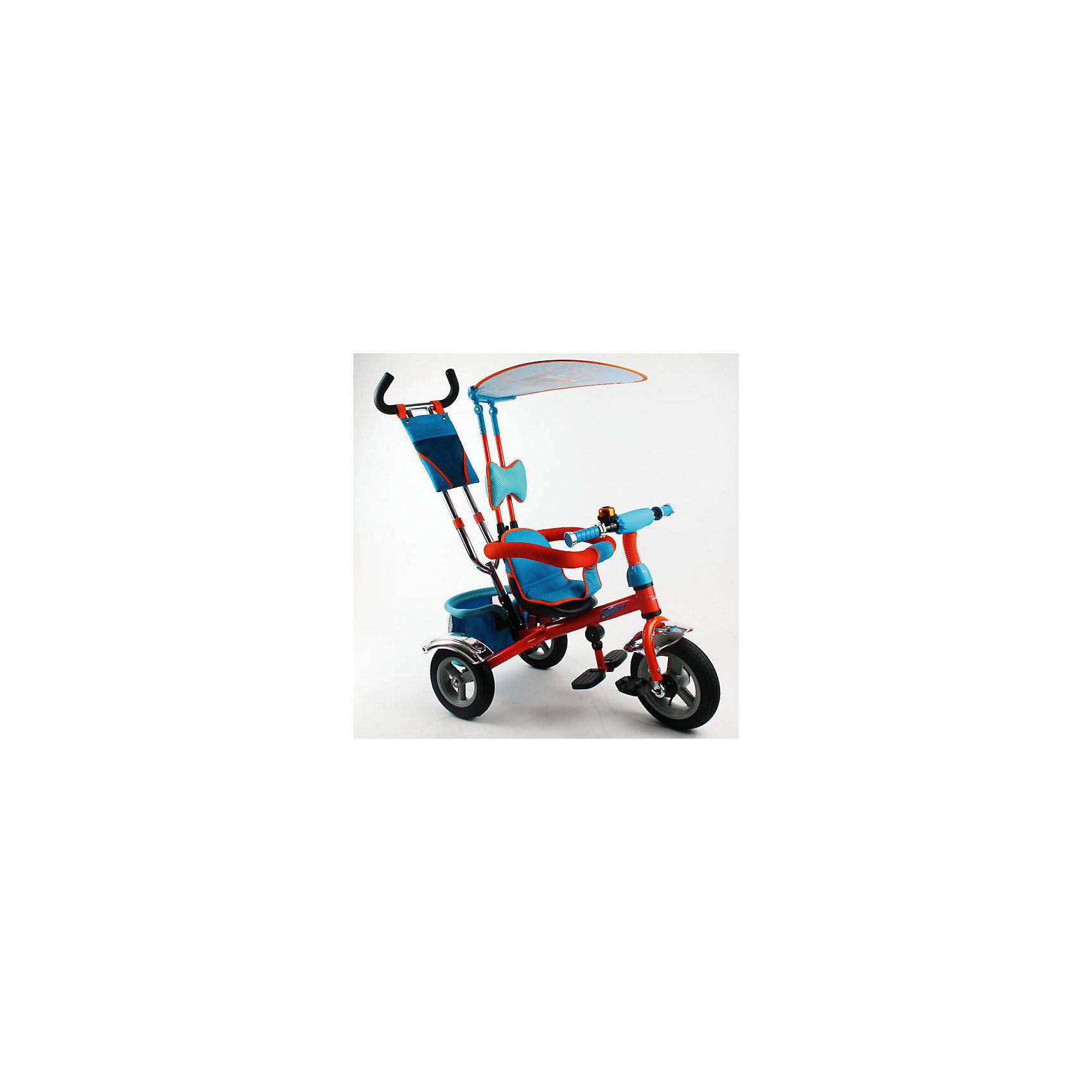 Трехколесный велосипед, Самолеты, DisneyСамолеты<br>Характеристики товара:<br><br>• цвет: голубой, оранжевый<br>• пластиковые надувные колеса<br>• диаметр колес: передние 25 см (10) с функцией свободного хода, задние 20 см (8)<br>• двойная телескопическая родительская ручка с мягкими рукоятками из пористой резины и сумочкой<br>• спинка с регулируемым углом наклона (3 положения) <br>• складная подставкя для ног<br>• складной тент <br>• покрытое мягкой тканью сидение с двухточечным ремнем безопасности<br>• подголовник на спинке<br>• автоматический свободный ход педалей<br>• регулируемая поворотная рычаг-спица<br>• багажная корзина<br>• звонок<br>• вес: 10,9 кг<br>• размер в собранном виде: 108х90х55 см<br>• допустимый вес: до 25 кг<br>• рекомендуемый возраст: от 1 до 3 лет<br>• габариты упаковки: 38х30х63 см<br>• страна производства: Китай<br><br>Детский трехколесный велосипед Disney Planes можно купить в нашем магазине.<br><br>Ширина мм: 1150<br>Глубина мм: 470<br>Высота мм: 970<br>Вес г: 10900<br>Возраст от месяцев: 12<br>Возраст до месяцев: 36<br>Пол: Унисекс<br>Возраст: Детский<br>SKU: 5526372