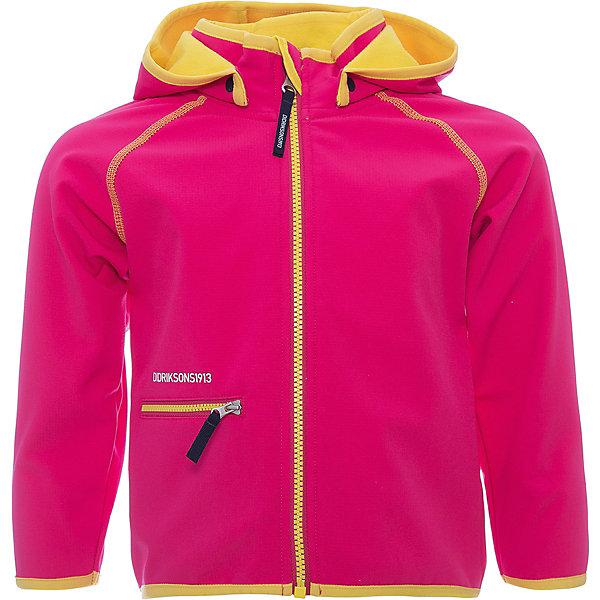 Толстовка FRENEKA для девочки DIDRIKSONSТолстовки<br>Характеристики товара:<br><br>• цвет: розовый<br>• материал: 100% полиэстер, Softshell <br>• подкладка: 100% полиэстер, флис<br>• сезон: демисезон<br>• температурный режим: от +10°С до +20°С<br>• защита от легкого дождя<br>• застежка: молния<br>• капюшон отстегивается с помощью кнопок<br>• защита подбородка от защемления<br>• карман на молнии<br>• ветронепродуваемая<br>• низ изделия на резинке<br>• светоотражатели<br>• страна бренда: Швеция<br>• страна производства: Китай<br><br>Толстовка из ламинированного с внешней стороны флиса. Ламинация защитит ребенка от ветра и легкого дождя. Легкая, но плотная и непродуваемая куртка из софтшелла: наружняя поверхность ткани обработана водоотталкивающей пропиткой, внутренняя поверхность - мягкая, но без ворса.  Съемный капюшон, низ изделия на резинке. Светоотражатели. <br><br>Весной и летом эта модель будет работать как самостоятельная верхняя одежда, в ненастную погоду эту куртку можно использовать как утепляющий слой под водонепроницаемую верхнюю одежду. Эта практичная и уютная куртка станет необходимым дополнением к гардеробу вашего ребенка.<br><br>Толстовку FRENEKA для девочки от бренда DIDRIKSONS (Дидриксонс) можно купить в нашем интернет-магазине.<br><br>Ширина мм: 356<br>Глубина мм: 10<br>Высота мм: 245<br>Вес г: 519<br>Цвет: розовый<br>Возраст от месяцев: 36<br>Возраст до месяцев: 48<br>Пол: Женский<br>Возраст: Детский<br>Размер: 100,80,90<br>SKU: 5527249