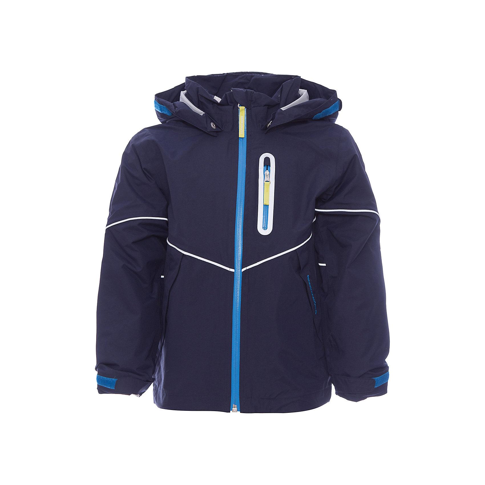 Куртка PANI для мальчика DIDRIKSONSВерхняя одежда<br>Характеристики товара:<br><br>• цвет: морской бриз<br>• материал: 100% полиамид<br>• подкладка: 100% полиэстер<br>• утеплитель: нет<br>• температурный режим: от +10°С до +20°С<br>• уровень влагонепроницаемости: 5000<br>• планка на молнии<br>• застежка: молния<br>• капюшон отстегивается с помощью кнопок<br>• защита подбородка от защемления<br>• карманы на молнии<br>• манжеты на липучке<br>• система увеличения размера<br>• ветронепродуваемая<br>• утяжка по подолу с фиксатором<br>• светоотражатели<br>• страна бренда: Швеция<br>• страна производства: Китай<br><br>Куртка из непромокаемой и непродуваемой мембранной ткани. Все швы проклеены, что обеспечивает максимальную защиту от внешней влаги. Подкладка из полиэстера. Съемный регулируемый капюшон. Рукава -  на резинке. Светоотражатели по линии кокетки и вдоль нагрудной молнии. <br><br>Модель растет вместе с ребенком: уникальный крой изделия позволяет при необходимости увеличить длину рукавов на один размер, распустив специальный внутренний шов. Практичная демисезонная куртка - идеальный вариант для прогулок на свежем воздухе в весеннюю или осеннюю пору.<br><br>Куртку PANI для мальчика от бренда DIDRIKSONS (Дидриксонс) можно купить в нашем интернет-магазине.<br><br>Ширина мм: 356<br>Глубина мм: 10<br>Высота мм: 245<br>Вес г: 519<br>Цвет: голубой<br>Возраст от месяцев: 18<br>Возраст до месяцев: 24<br>Пол: Мужской<br>Возраст: Детский<br>Размер: 90,100,140,130,120,80,110<br>SKU: 5527255