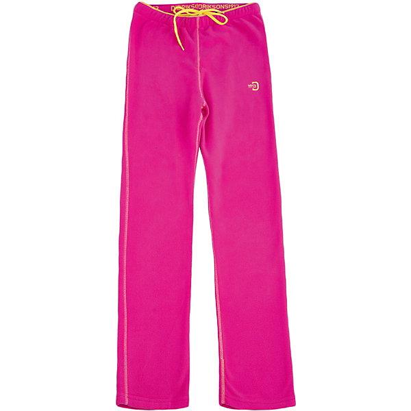 Брюки MONTE KIDS для девочки DIDRIKSONSФлис и термобелье<br>Характеристики товара:<br><br>• цвет: розовый<br>• материал: 100% полиэстер, флис<br>• сезон: демисезон<br>• можно использовать как верхнюю одежду или нижний слой<br>• украшены логотипом<br>• мягкий материал<br>• мягкая резинка в поясе<br>• легкий уход <br>• страна бренда: Швеция<br>• страна производства: Китай<br><br>Брюки из тонкого флиса.  Мягкий и комфортный флис обладает хорошими теплоизоляционными свойствами, которые сохраняются даже во влажном состоянии. Весной и летом эта модель будет работать как самостоятельная верхняя одежда, а в ненастную погоду ее можно использовать как утепляющий слой под водонепроницаемую верхнюю одежду.<br><br>Брюки MONTE KIDS от бренда DIDRIKSONS (Дидриксонс) можно купить в нашем интернет-магазине.<br>Ширина мм: 215; Глубина мм: 88; Высота мм: 191; Вес г: 336; Цвет: розовый; Возраст от месяцев: 36; Возраст до месяцев: 48; Пол: Женский; Возраст: Детский; Размер: 100,140,120,80,90,110,130; SKU: 5527269;