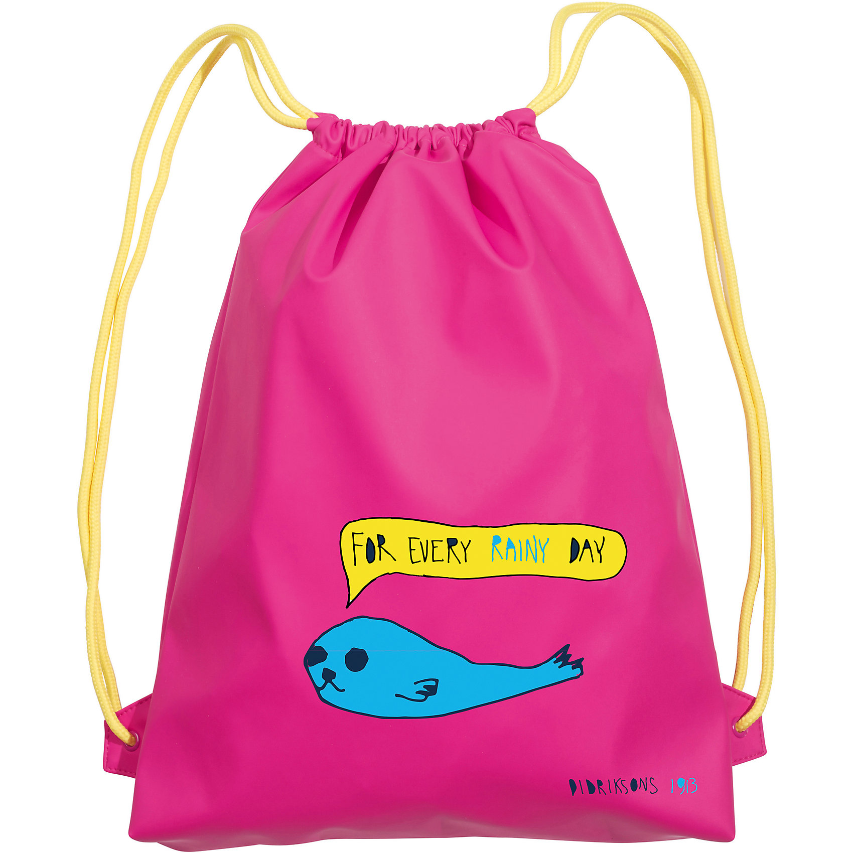 Рюкзак GALON для девочки DIDRIKSONSАксессуары<br>Рюкзак из абсолютно водонепроницаемого полиуретана Galon. <br>Состав:<br>Верх - 100% полиуретан, подкладка - 100% полиэстер<br><br>Ширина мм: 227<br>Глубина мм: 11<br>Высота мм: 226<br>Вес г: 350<br>Цвет: розовый<br>Возраст от месяцев: 36<br>Возраст до месяцев: 120<br>Пол: Женский<br>Возраст: Детский<br>Размер: one size<br>SKU: 5527316