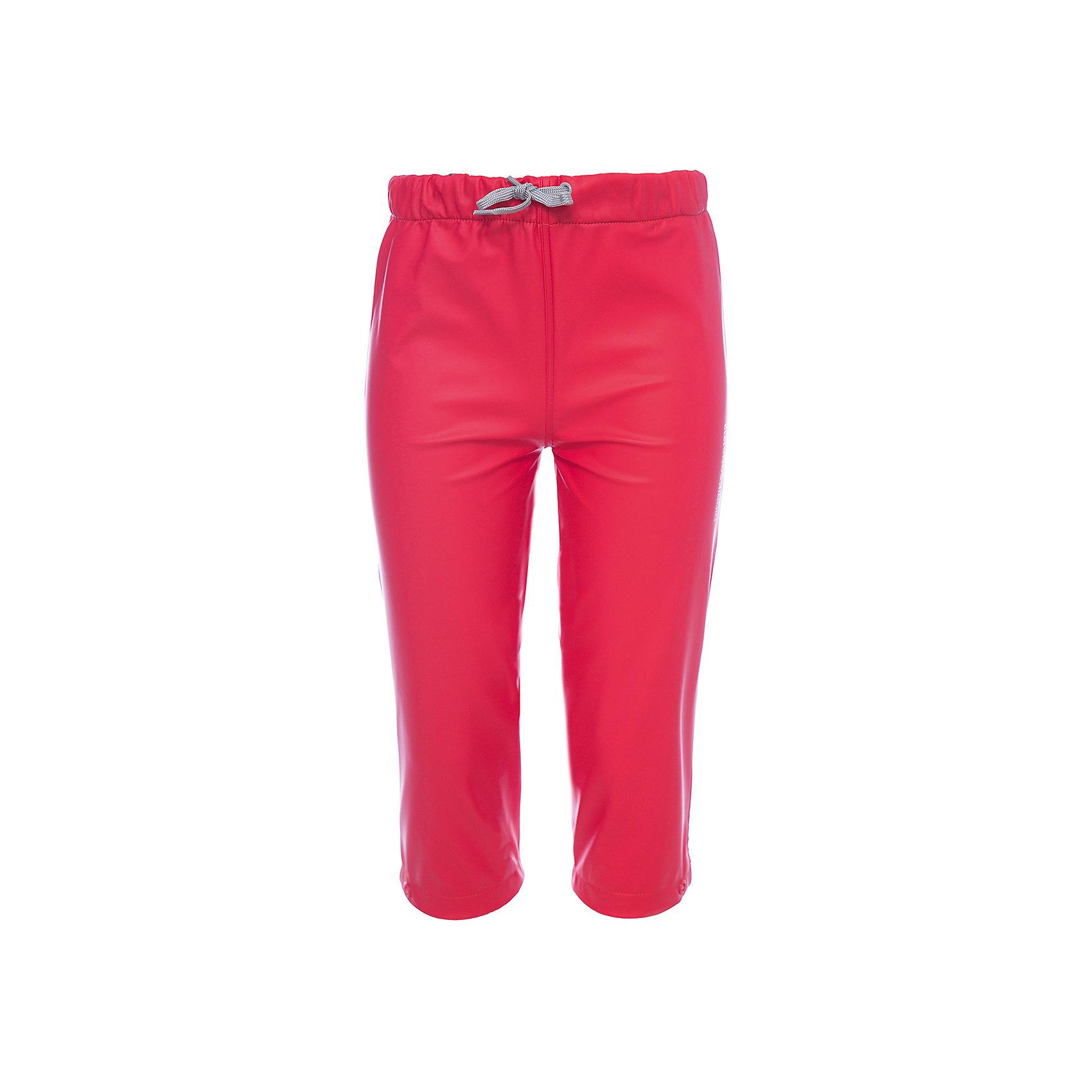 Непромокаемые брюки MIDJEMAN  DIDRIKSONSВерхняя одежда<br>Характеристики товара:<br><br>• цвет: красный<br>• материал: 100% полиэстер, покрытие 100% полиуретан<br>• подкладка: 100% полиэстер, трикотаж<br>• утеплитель: нет<br>• сезон: демисезон<br>• температурный режим: от +10°С до +20°С<br>• прорезиненные<br>• уровень влагонепроницаемости: 8000 мм (DRY-8)<br>• мягкая резинка в талии<br>• ветронепродуваемые<br>• шнурок со стоппером<br>• все швы пропаяны<br>• наличие светоотражающих деталей<br>• страна бренда: Швеция<br>• страна производства: Китай<br><br>Брюки из водонепроницаемого полиуретана Galon с бондированным трикотажем внутри без утеплителя. Все швы пропаяны, что обеспечивает максимальную защиту от внешней влаги. Светоотражатели. Брюки можно использовать в качестве самостоятельного предмета одежды, а также в качестве защитной одежды.<br><br>Брюки MIDJEMAN от бренда DIDRIKSONS (Дидриксонс) можно купить в нашем интернет-магазине.<br><br>Ширина мм: 215<br>Глубина мм: 88<br>Высота мм: 191<br>Вес г: 336<br>Цвет: розовый<br>Возраст от месяцев: 18<br>Возраст до месяцев: 24<br>Пол: Унисекс<br>Возраст: Детский<br>Размер: 90,120,80,100<br>SKU: 5527324