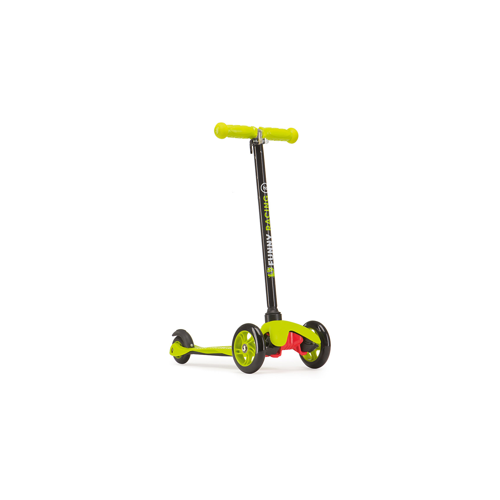 Самокат TORNADO, зеленый, Happy BabyСамокаты<br>Характеристики товара:<br><br>• возраст от 3 лет<br>• максимальная нагрузка до 40 кг<br>• материал: пластик, алюминий<br>• материал колес ПВХ<br>• цвет: зеленый<br>• диаметр передних колес 120 мм, заднего колеса 80 мм<br>• высота руля 67-77 см<br>• ножной тормоз на заднем колесе<br>• вес самоката 1,9 кг<br>• размер упаковки 59х27х14,5 см<br>• вес упаковки 2,2 кг<br>• страна производитель: Китай<br><br>Самокат «TORNADO», зеленый, Happy Baby сделает детскую прогулку на свежем воздухе активной и увлекательной. Спереди расположены 2 колеса, что делает самокат устойчивым. Колеса небольшого диаметра хорошо разгоняются и набирают скорость. Колеса подойдут для езды по городским улочкам или на специальных площадках. Высота руля регулируется под рост ребенка. Ножной тормоз на колесе отвечает за безопасное катание и быстрое торможение перед препятствием. Накладки на руле препятствуют соскальзыванию ладоней во время езды.<br><br>Самокат изготовлен из прочного алюминия. Пластиковая рифленая дека не позволяет ножкам скользить по поверхности. Катаясь на самокате, ребенок учится держать равновесие, координировать свои движения. <br><br>Самокат «TORNADO», зеленый, Happy Baby можно приобрести в нашем интернет магазине.<br><br>Ширина мм: 590<br>Глубина мм: 145<br>Высота мм: 270<br>Вес г: 2200<br>Возраст от месяцев: 12<br>Возраст до месяцев: 36<br>Пол: Унисекс<br>Возраст: Детский<br>SKU: 5527339