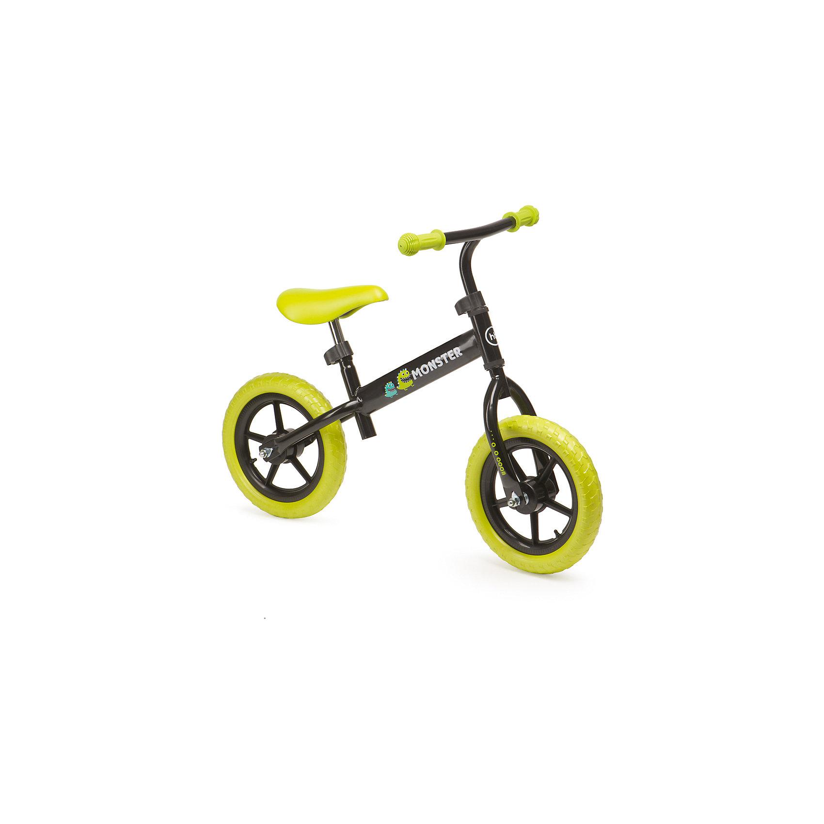 Беговел MOBYX, зеленый, Happy BabyБеговелы<br>Характеристики товара:<br><br>• возраст от 2 лет<br>• максимальная нагрузка до 27 кг<br>• рост ребенка 95-125 см<br>• цвет зеленый<br>• материал: сталь, пластик, полиуретан, резина<br>• удобное эргономичное сиденье<br>• бесшумные колёса<br>• стальная рама<br>• колёса: полимерные колеса с имитацией ниппелей<br>• высота сидения 42-54 см<br>• высота руля 56-68 см<br>• длина беговела 82 см<br>• вес беговела 3 кг<br>• размер упаковки 68х36х17 см<br>• вес упаковки 3,69 кг<br>• страна производитель: Китай<br><br>Беговел «MOBYX», зеленый, Happy Baby представляет собой велосипед, но без педалей. На нем ребенок учится кататься, отталкиваясь ножками. В процессе катания ребенок учится сохранять равновесие и координировать движения. <br><br>Беговел изготовлен из прочной стали. Сидение и руль регулируются под рост ребенка. Колеса обеспечивают бесшумную плавную езду.<br><br>Беговел «MOBYX», зеленый, Happy Baby можно приобрести в нашем интернет-магазине.<br><br>Ширина мм: 680<br>Глубина мм: 360<br>Высота мм: 170<br>Вес г: 3690<br>Возраст от месяцев: 12<br>Возраст до месяцев: 36<br>Пол: Унисекс<br>Возраст: Детский<br>SKU: 5527343