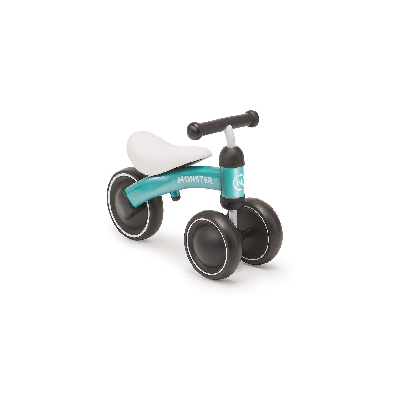 Трехколёсный беговел NEO, голубой, Happy BabyБеговелы<br>Характеристики товара:<br><br>• возраст от 1 года<br>• максимальная нагрузка до 20 кг<br>• рост ребенка 78-95 см<br>• цвет голубой<br>• материал: сталь, пластик, полиуретан<br>• стальная рама<br>• бесшумные колёса<br>• высота сидения 24 см<br>• высота руля 34 см<br>• длина беговела 45 см<br>• вес беговела 1,8 кг<br>• размер упаковки 47х25х17 см<br>• вес упаковки 2,2 кг<br>• страна производитель: Китай<br><br>Трехколесный беговел «NEO», зеленый, Happy Baby разработан специально для самых маленьких детей, которые только учатся кататься на транспортном средстве. Благодаря 2 передним колесам беговел хорошо сохраняет устойчивость и не опрокидывается. Малыш учится кататься, отталкиваясь ножками, сохранять равновесие и координировать движения. <br><br>Рама беговела изготовлена из прочной стали. Большие колеса обеспечивают бесшумную езду.<br><br>Трехколесный беговел «NEO», зеленый, Happy Baby можно приобрести в нашем интернет-магазине.<br><br>Ширина мм: 470<br>Глубина мм: 170<br>Высота мм: 250<br>Вес г: 2200<br>Возраст от месяцев: 12<br>Возраст до месяцев: 36<br>Пол: Унисекс<br>Возраст: Детский<br>SKU: 5527348
