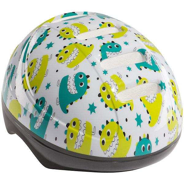 Шлем защитный STONEHEAD, белый, Happy BabyЗащита, шлемы<br>Характеристики товара:<br><br>• цвет белый<br>• рекомендуемый возраст ребенка: от 6 до 11 лет<br>• материал ПВХ, пенополистирол, полиамид, полиацеталь, дакрон, поролон, вельвет<br>• вкладки из поролона и вельвета для большего комфорта<br>• регулируемый ремешок<br>• регулятор обхвата<br>• размер: M, на обхват головы: 48-54 см<br>• вес 220 г.<br>• размер упаковки 27х22х19 см<br>• вес упаковки 290 г.<br>• страна производитель: Китай<br><br>Шлем защитный «STONEHEAD», белый, Happy Baby защищает голову от ударов во время езды на велосипеде, самокате или во время занятий спортом. Вставки из поролона и вельвета обеспечивают комфорт. Ремешок можно отрегулировать. Шлем украшен ярким принтом.<br><br>Шлем защитный «STONEHEAD», белый, Happy Baby можно приобрести в нашем интернет-магазине.<br><br>Ширина мм: 270<br>Глубина мм: 220<br>Высота мм: 190<br>Вес г: 290<br>Возраст от месяцев: 12<br>Возраст до месяцев: 36<br>Пол: Унисекс<br>Возраст: Детский<br>SKU: 5527349