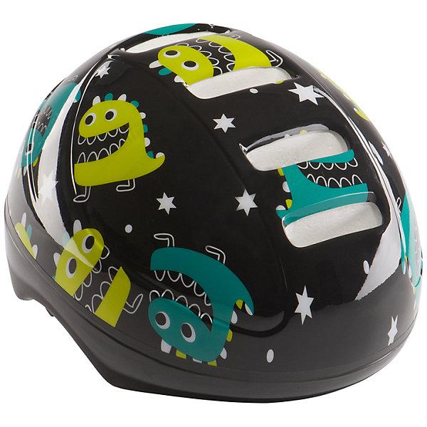 Шлем защитный STONEHEAD, черный, Happy BabyЗащита, шлемы<br>Характеристики товара:<br><br>• цвет чёрный<br>• рекомендуемый возраст ребенка: от 6 до 11 лет<br>• материал ПВХ, пенополистирол, полиамид, полиацеталь, дакрон, поролон, вельвет<br>• вкладки из поролона и вельвета для большего комфорта<br>• регулируемый ремешок<br>• регулятор обхвата<br>• размер: M, на обхват головы: 48-56 см<br>• вес 220 г.<br>• размер упаковки 27х22х19 см<br>• вес упаковки 290 г.<br>• страна производитель: Китай<br><br>Шлем защитный «STONEHEAD», белый, Happy Baby защищает голову от ударов во время езды на велосипеде, самокате или во время занятий спортом. Вставки из поролона и вельвета обеспечивают комфорт. Ремешок можно отрегулировать. Шлем украшен ярким принтом.<br><br>Шлем защитный «STONEHEAD», белый, Happy Baby можно приобрести в нашем интернет-магазине.<br><br>Ширина мм: 270<br>Глубина мм: 220<br>Высота мм: 190<br>Вес г: 290<br>Возраст от месяцев: 12<br>Возраст до месяцев: 36<br>Пол: Унисекс<br>Возраст: Детский<br>SKU: 5527350