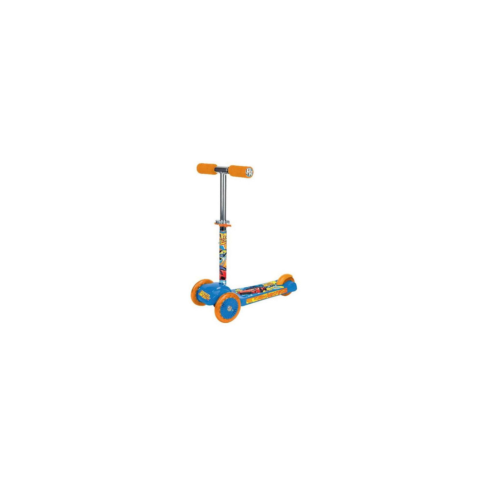 Трехколесный самокат Road Racing, Next, голубой, оранжевыйСамокаты<br>Характеристики товара:<br><br>• цвет: голубой, оранжевый<br>• принт: Road Racing<br>• колеса: ПВХ, передние 120 мм, заднее 80 мм<br>• платформа 34 х 10 см <br>• противоскользящее покрытие<br>• высокоточный подшипник abec-5<br>• 2 положения высоты руля<br>• управление наклоном<br>• материал: пластик, сталь<br>• мягкие ручки<br>• тормоз заднего колеса<br>• максимальная нагрузка - 20 кг<br>• вес: 2850гр.<br>• размер: 33х50х63 см<br>• возраст: от 2 лет<br><br>Трехколесный самокат Road Racing, Next с рисунком машин понравится маленькому  гонщику. Удобная и устойчивая конструкция. Ручка самоката может изменять свою длину – от 50 см до 70 см.<br><br>Трехколесный самокат Road Racing, Next, розовый можно приобрести в нашем интернет-магазине.<br><br>Ширина мм: 330<br>Глубина мм: 500<br>Высота мм: 630<br>Вес г: 2850<br>Возраст от месяцев: 180<br>Возраст до месяцев: 60<br>Пол: Мужской<br>Возраст: Детский<br>SKU: 5528119