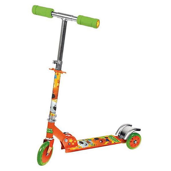 Трехколесный самокат, Ми-Ми Мишки, Next, оранжевыйИгрушки<br>Характеристики товара:<br><br>• цвет: оранжевый<br>• принт:  Ми-Ми Мишки<br>• механизм: складной<br>• высококачественные полиуретановые pu колеса: 120 мм<br>• усиленная платформа с противоскользящей поверхностью, 34х9,5 см<br>• высокоточный подшипник abec-5<br>• 3 положения высоты руля<br>• материал: алюминий, полипропилен<br>• мягкие резиновые ручки<br>• тормоз заднего колеса<br>• максимальная нагрузка - 50 кг<br>• вес: 2850гр.<br>• размер: 33х67х83 см<br>• возраст: от 3 лет<br><br>Трехколесный самокат, Ми-Ми Мишки, Next можно приобрести в нашем интернет-магазине.<br><br>Ширина мм: 330<br>Глубина мм: 670<br>Высота мм: 830<br>Вес г: 2850<br>Возраст от месяцев: 36<br>Возраст до месяцев: 96<br>Пол: Унисекс<br>Возраст: Детский<br>SKU: 5528126