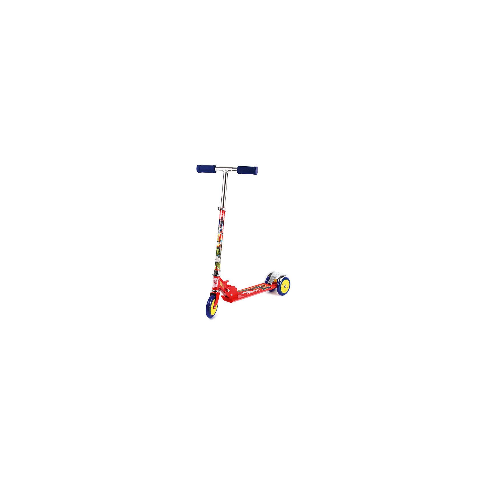 Трехколесный самокат, Трансформеры, Next, красныйТрансформеры<br>Характеристики товара:<br><br>• цвет: красный<br>• принт: Трансформеры<br>• механизм: складной<br>• высококачественные полиуретановые pu колеса: 120 мм<br>• усиленная платформа с противоскользящей поверхностью, 34х9,5 см<br>• высокоточный подшипник abec-5<br>• 3 положения высоты руля<br>• материал: алюминий, полипропилен<br>• мягкие резиновые ручки<br>• тормоз заднего колеса<br>• максимальная нагрузка - 50 кг<br>• вес: 2850гр.<br>• размер: 33х67х83 см<br>• возраст: от 3 лет<br><br>Трехколесный самокат Трансформеры, Next можно приобрести в нашем интернет-магазине.<br><br>Ширина мм: 330<br>Глубина мм: 670<br>Высота мм: 830<br>Вес г: 2850<br>Возраст от месяцев: 36<br>Возраст до месяцев: 96<br>Пол: Мужской<br>Возраст: Детский<br>SKU: 5528135