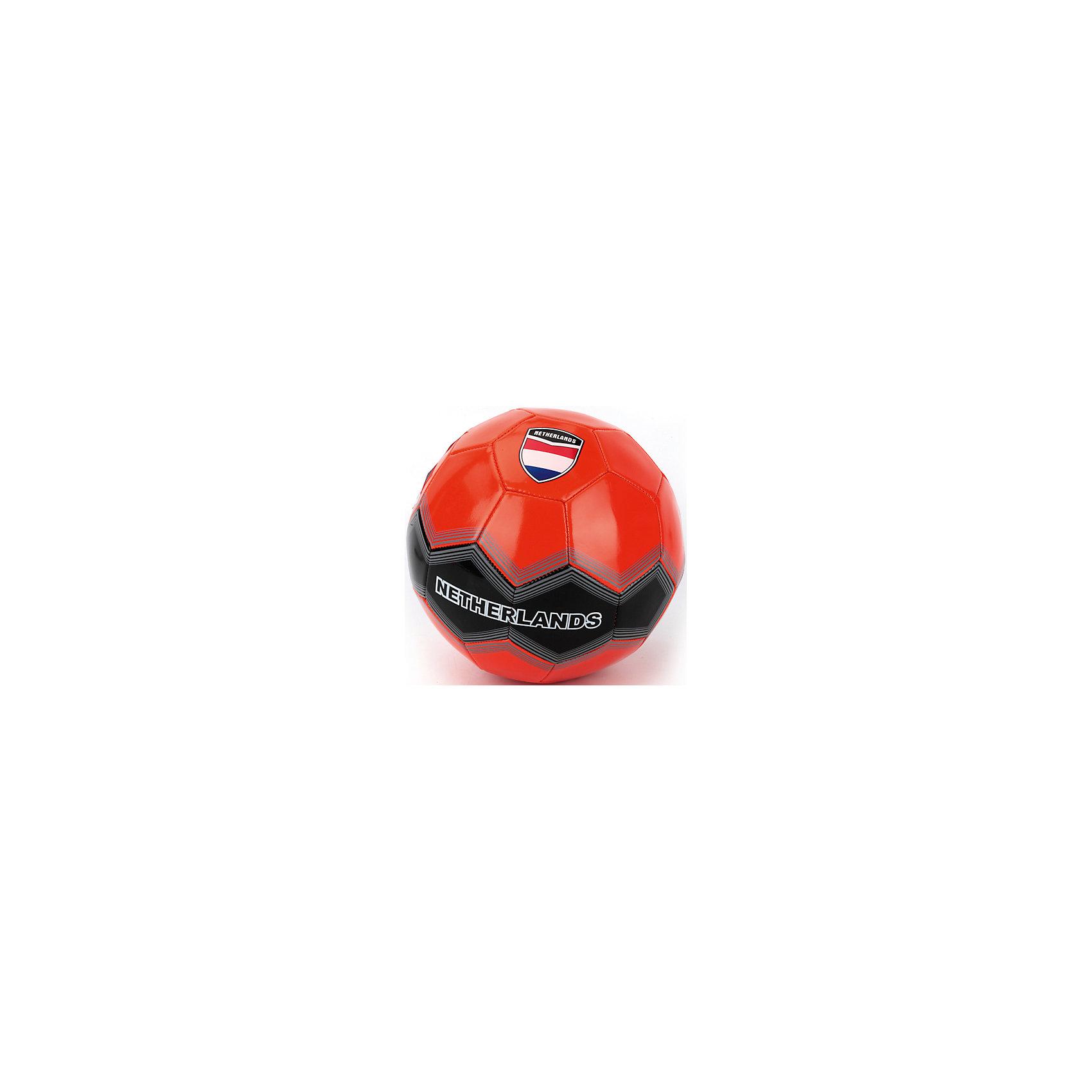 Футбольный мячСборная Нидерландов, АтлетикМячи детские<br>Мяч футбольный лакированный, ПВХ, 1 слой, 270 грамм, дизайн Сборная Нидерландов.<br><br>Ширина мм: 230<br>Глубина мм: 230<br>Высота мм: 230<br>Вес г: 280<br>Возраст от месяцев: 36<br>Возраст до месяцев: 96<br>Пол: Мужской<br>Возраст: Детский<br>SKU: 5528138
