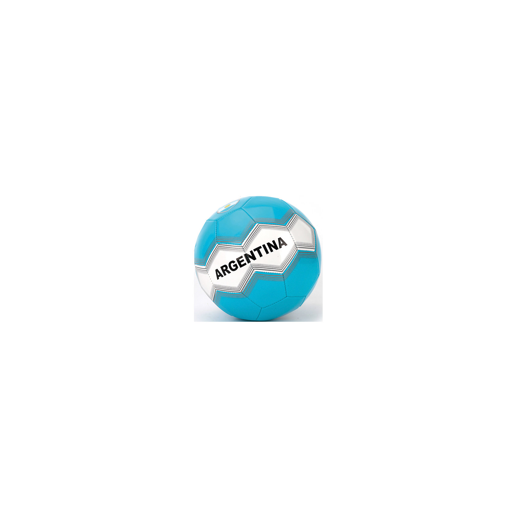 Футбольный мячСборная Аргентины, АтлетикМячи детские<br>Мяч футбольный лакированный, ПВХ, 1 слой, 270 грамм, дизайн Сборная Аргентины.<br><br>Ширина мм: 230<br>Глубина мм: 230<br>Высота мм: 230<br>Вес г: 280<br>Возраст от месяцев: 36<br>Возраст до месяцев: 96<br>Пол: Мужской<br>Возраст: Детский<br>SKU: 5528139