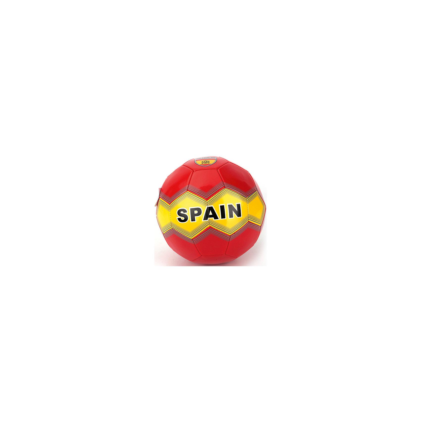 Футбольный мячСборная Испании, АтлетикМяч футбольный лакированный, ПВХ, 1 слой, 270 грамм, дизайн Сборная Испании.<br><br>Ширина мм: 230<br>Глубина мм: 230<br>Высота мм: 230<br>Вес г: 280<br>Возраст от месяцев: 36<br>Возраст до месяцев: 96<br>Пол: Мужской<br>Возраст: Детский<br>SKU: 5528141
