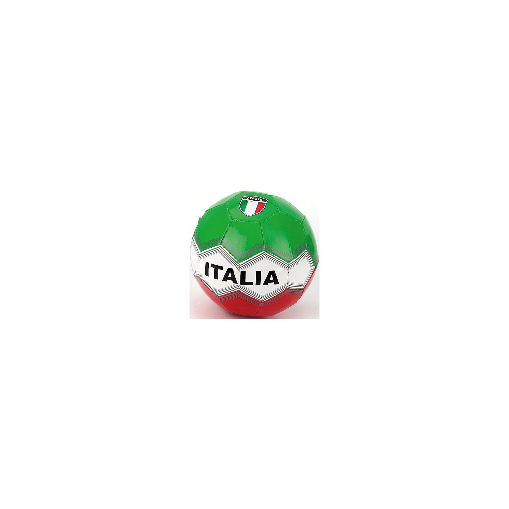 Футбольный мячСборная Италии, Атлетик, зеленый, красныйМячи детские<br>Характеристики товара:<br><br>• цвет: зеленый, белый, красный<br>• дизайн: Сборная Италии<br>• вид спорта: футбол<br>• материал: ПВХ<br>• 1 слой<br>• вес: 270гр<br><br>Футбольный мяч Сборная Италии, Атлетик можно приобрести в нашем интернет-магазине.<br><br>Ширина мм: 230<br>Глубина мм: 230<br>Высота мм: 230<br>Вес г: 280<br>Возраст от месяцев: 36<br>Возраст до месяцев: 96<br>Пол: Мужской<br>Возраст: Детский<br>SKU: 5528143
