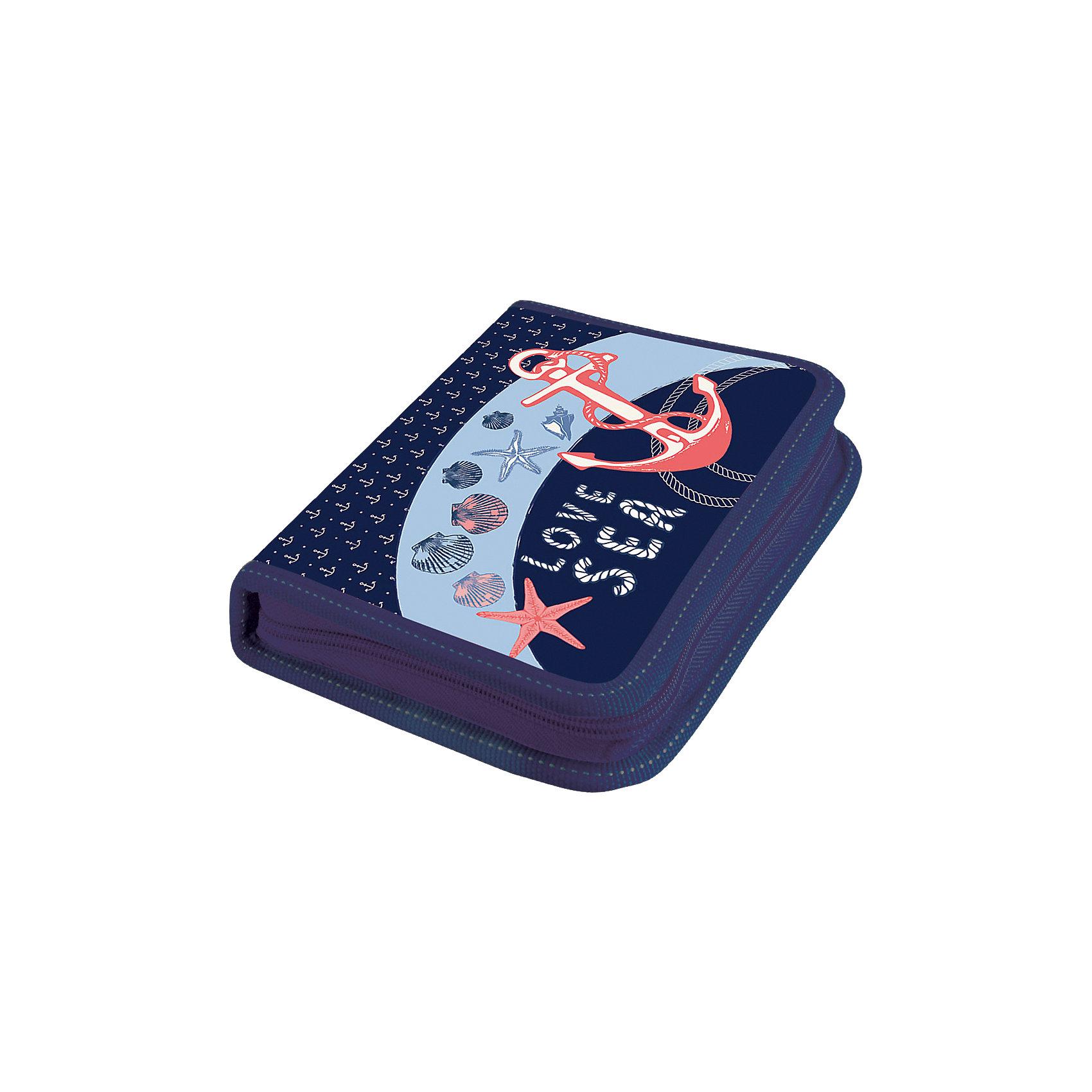 Пенал Море, LimpopoПеналы без наполнения<br>Школьный пенал - одна из самых важных вещей для успешной учебы ребенка. Пенал широкий, двухстворчатый, жесткий, ламинированный, на молнии, без наполнения. Внутри предусмотрены крепления для канцелярских принадлежностей. Внутренняя поверхность пенала легко чиститься от следов ручек и карандашей с помощью влажной тряпки и мыльного раствора.<br><br>Ширина мм: 195<br>Глубина мм: 145<br>Высота мм: 250<br>Вес г: 108<br>Возраст от месяцев: 36<br>Возраст до месяцев: 168<br>Пол: Женский<br>Возраст: Детский<br>SKU: 5528379