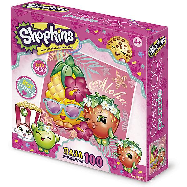 Пазл Тропический остров, Shopkins, OrigamiПазлы для малышей<br>Пазл 100 элементов. Комплектность: поле (220х220). Рекомендованный возраст 4+<br><br>Ширина мм: 150<br>Глубина мм: 45<br>Высота мм: 150<br>Вес г: 100<br>Возраст от месяцев: 48<br>Возраст до месяцев: 96<br>Пол: Унисекс<br>Возраст: Детский<br>SKU: 5528409