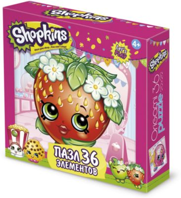Пазл Strawberry Kiss , Shopkins, Origami