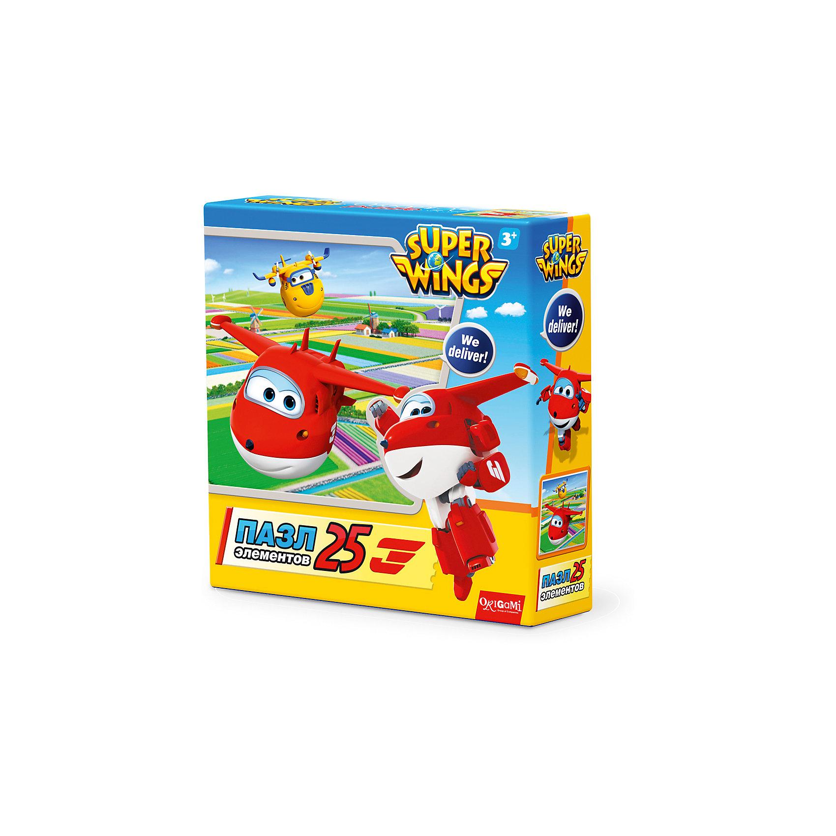 Пазл Голландские тюльпаны, Super Wings, OrigamiПазлы для малышей<br>Пазл Голландские тюльпаны, Super Wings, Origami<br><br>Характеристики:<br><br>• Количество деталей: 25 шт.<br>• Размер упаковки: 15х4,5х15 см.<br>• Размер готовой картинки: 21х21 см.<br>• Состав: картон<br>• Вес: 100 г.<br>• Для детей в возрасте: от 3 лет<br>• Страна производитель: Россия<br><br>Лицензионный пазл Супер Крылья: Джетт и его друзья с оригинальным дизайном соответствует высоким стандартам, которые подтверждены сертификатами качества. Пазл отлично собирается, благодаря чётким разделениям частей по цвету сборка этого пазла не будет сложной. Закончив сборку вы можете склеить кусочки превратив пазл в красивую картину, или можете разобрать его и снова собрать позже.<br><br>Пазл Голландские тюльпаны, Super Wings, Origami можно купить в нашем интернет-магазине.<br><br>Ширина мм: 150<br>Глубина мм: 45<br>Высота мм: 150<br>Вес г: 100<br>Возраст от месяцев: 36<br>Возраст до месяцев: 72<br>Пол: Унисекс<br>Возраст: Детский<br>SKU: 5528426