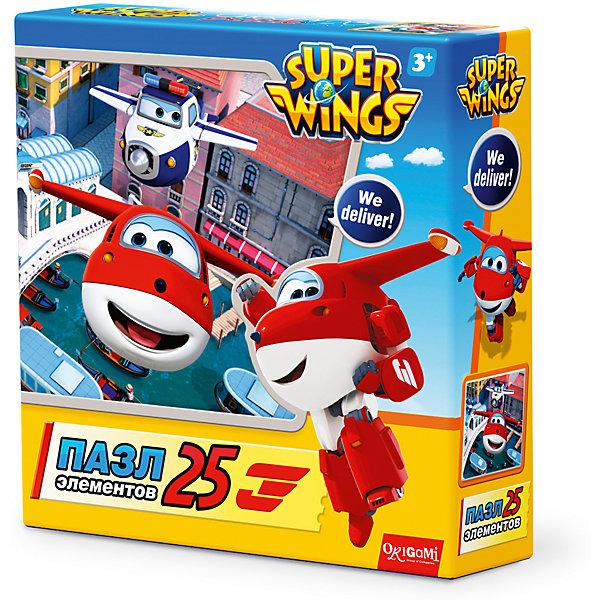 Пазл Каналы Венеции, Super Wings, OrigamiПазлы для малышей<br>Пазл Каналы Венеции, Super Wings, Origami<br><br>Характеристики:<br><br>• Количество деталей: 25 шт.<br>• Размер упаковки: 15х4,5х15 см.<br>• Размер готовой картинки: 21х21 см.<br>• Состав: картон<br>• Вес: 100 г.<br>• Для детей в возрасте: от 3 лет<br>• Страна производитель: Россия<br><br>Лицензионный пазл Супер Крылья: Джетт и его друзья с оригинальным дизайном соответствует высоким стандартам, которые подтверждены сертификатами качества. Пазл отлично собирается, благодаря чётким разделениям частей по цвету сборка этого пазла не будет сложной. Закончив сборку вы можете склеить кусочки превратив пазл в красивую картину, или можете разобрать его и снова собрать позже.<br><br>Пазл Каналы Венеции, Super Wings, Origami можно купить в нашем интернет-магазине.<br><br>Ширина мм: 150<br>Глубина мм: 45<br>Высота мм: 150<br>Вес г: 100<br>Возраст от месяцев: 36<br>Возраст до месяцев: 72<br>Пол: Унисекс<br>Возраст: Детский<br>SKU: 5528427
