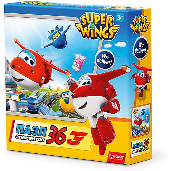 Пазл Взлет, Super Wings, OrigamiПазлы для малышей<br>Пазл Взлет, Super Wings, Origami<br><br>Характеристики:<br><br>• Количество деталей: 36 шт.<br>• Размер упаковки: 15 * 4,5 * 15 см.<br>• Размер готовой картинки: 21 * 21 см.<br>• Состав: картон<br>• Вес: 100 г.<br>• Для детей в возрасте: от 3 до 6 лет<br>• Страна производитель: Россия<br><br>Лицензионный пазл с оригинальным дизайном соответствует высоким стандартам, которые подтверждены сертификатами качества. Пазл отлично собирается, некоторые части картинки повторяются по цвету, это сделает сборку немного сложнее и интереснее. Закончив сборку вы можете склеить кусочки превратив пазл в красивую картину, или можете разобрать его и снова собрать позже.<br><br>Пазл Взлет, Super Wings, Origami можно купить в нашем интернет-магазине.<br>Ширина мм: 150; Глубина мм: 45; Высота мм: 150; Вес г: 100; Возраст от месяцев: 36; Возраст до месяцев: 72; Пол: Унисекс; Возраст: Детский; SKU: 5528431;