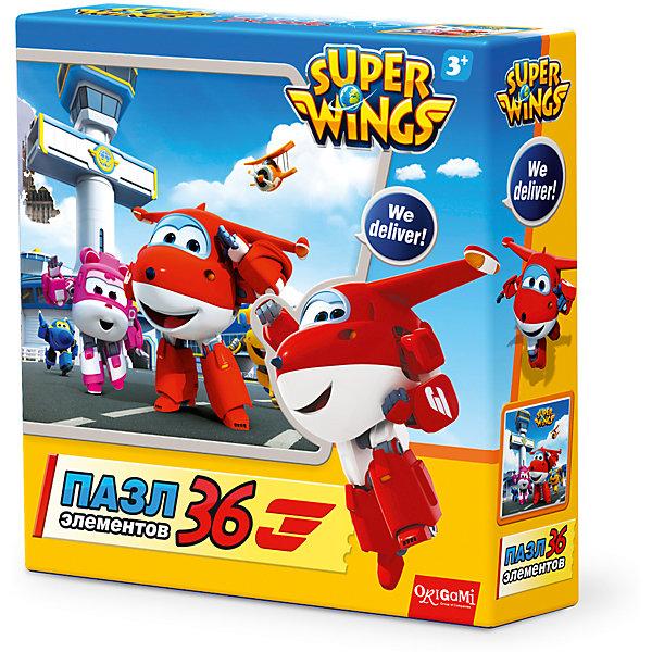 Пазл Джетт и команда, Super Wings, OrigamiПазлы для малышей<br>Пазл Джетт и команда, Super Wings, Origami<br><br>Характеристики:<br><br>• Количество деталей: 36 шт.<br>• Размер упаковки: 15 * 4,5 * 15 см.<br>• Размер готовой картинки: 21 * 21 см.<br>• Состав: картон<br>• Вес: 100 г.<br>• Для детей в возрасте: от 3 до 6 лет<br>• Страна производитель: Россия<br><br>Лицензионный пазл с оригинальным дизайном соответствует высоким стандартам, которые подтверждены сертификатами качества. Пазл отлично собирается, некоторые части картинки повторяются по цвету, это сделает сборку немного сложнее и интереснее. Закончив сборку вы можете склеить кусочки превратив пазл в красивую картину, или можете разобрать его и снова собрать позже.<br><br>Пазл Джетт и команда, Super Wings, Origami можно купить в нашем интернет-магазине.<br><br>Ширина мм: 150<br>Глубина мм: 45<br>Высота мм: 150<br>Вес г: 100<br>Возраст от месяцев: 36<br>Возраст до месяцев: 72<br>Пол: Унисекс<br>Возраст: Детский<br>SKU: 5528432