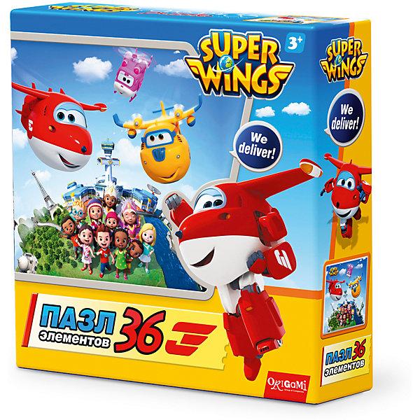 Пазл Целый мир, Super Wings, OrigamiПазлы для малышей<br>Пазл Джетт и команда, Super Wings, Origami<br><br>Характеристики:<br><br>• Количество деталей: 36 шт.<br>• Размер упаковки: 15 * 4,5 * 15 см.<br>• Размер готовой картинки: 21 * 21 см.<br>• Состав: картон<br>• Вес: 100 г.<br>• Для детей в возрасте: от 3 до 6 лет<br>• Страна производитель: Россия<br><br>Лицензионный пазл с оригинальным дизайном соответствует высоким стандартам, которые подтверждены сертификатами качества. Пазл отлично собирается, некоторые части картинки повторяются по цвету, это сделает сборку немного сложнее и интереснее. Закончив сборку вы можете склеить кусочки превратив пазл в красивую картину, или можете разобрать его и снова собрать позже.<br><br>Пазл Джетт и команда, Super Wings, Origami можно купить в нашем интернет-магазине.<br>Ширина мм: 150; Глубина мм: 45; Высота мм: 150; Вес г: 100; Возраст от месяцев: 36; Возраст до месяцев: 72; Пол: Унисекс; Возраст: Детский; SKU: 5528433;