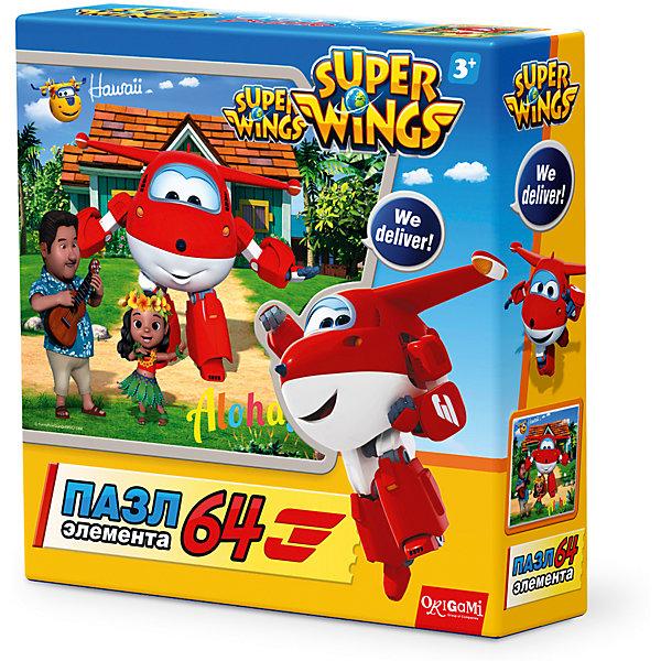 Пазл Гавайские каникулы, Super Wings, OrigamiПазлы для малышей<br>Пазл Гавайские каникулы, Super Wings, Origami<br><br>Характеристики:<br><br>• Количество деталей: 64 шт.<br>• Размер упаковки: 15 * 4,5 * 15 см.<br>• Размер готовой картинки: 21 * 21 см.<br>• Состав: картон<br>• Вес: 100 г.<br>• Для детей в возрасте: от 3 до 6 лет<br>• Страна производитель: Россия<br><br>Лицензионный пазл с оригинальным дизайном соответствует высоким стандартам, которые подтверждены сертификатами качества. Пазл отлично собирается, некоторые части картинки повторяются по цвету, это сделает сборку немного сложнее и интереснее. Закончив сборку вы можете склеить кусочки превратив пазл в красивую картину, или можете разобрать его и снова собрать позже. <br><br>Пазл Гавайские каникулы, Super Wings, Origami можно купить в нашем интернет-магазине.<br>Ширина мм: 150; Глубина мм: 45; Высота мм: 150; Вес г: 100; Возраст от месяцев: 36; Возраст до месяцев: 72; Пол: Унисекс; Возраст: Детский; SKU: 5528434;