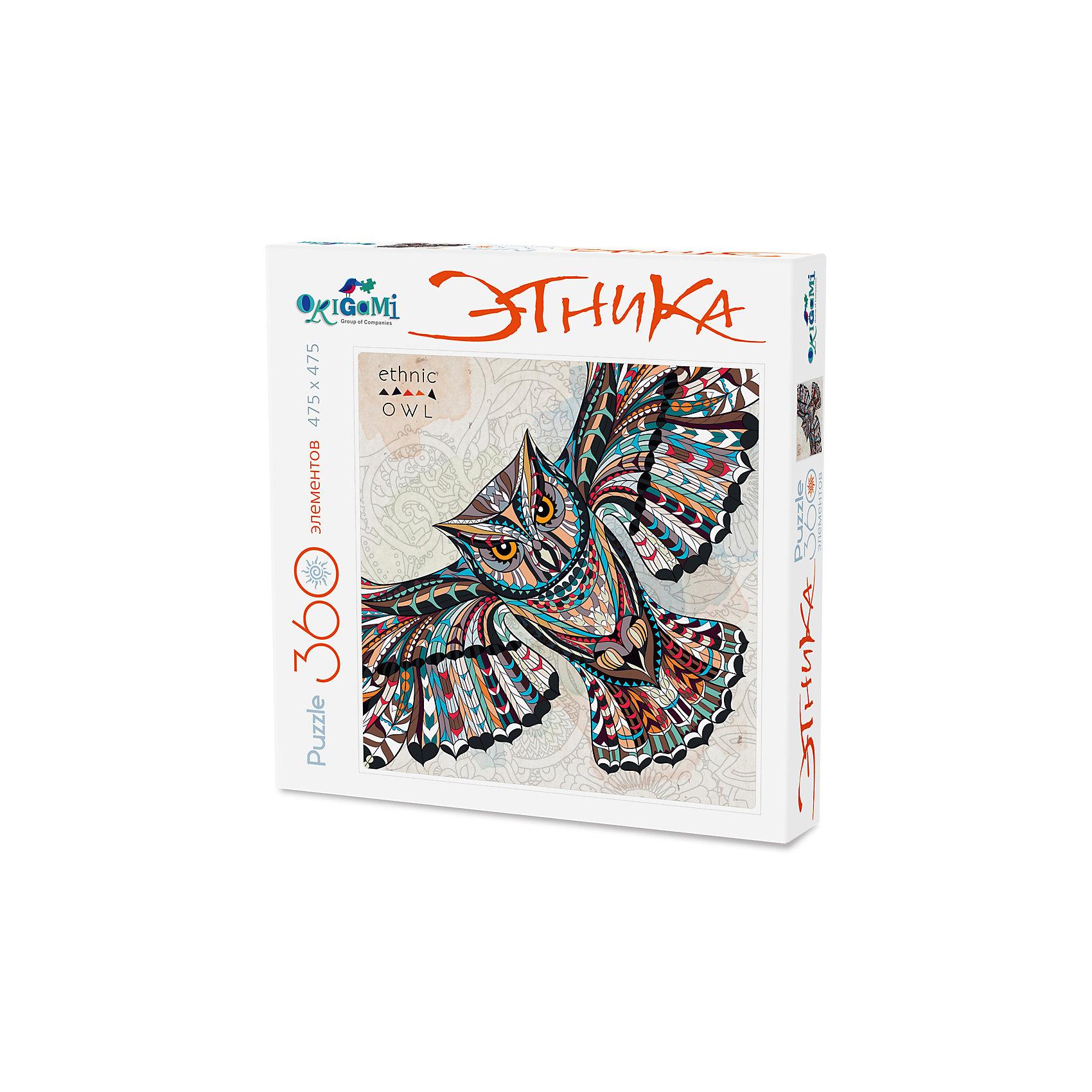 Пазл арт-терапия Сова, OrigamiПазлы для малышей<br>Пазл арт-терапия Сова, Origami<br><br>Характеристики:<br><br>• Количество элементов: 360 шт.<br>• Размер упаковки: 24 *4,5*24 см<br>• Размер готовой картинки: 4,75*4,75 см <br>• Состав: картон<br>• Вес: 230 г<br>• Для детей в возрасте: от 6 до 10 лет<br>• Страна производитель: Россия<br><br>Здесь ребенку предстоит собрать полное изображение тотемной совы, выполненной тонкими художественными линиями, что будет способствовать ребенку развивать свои способности в направлении рисования. Высококачественный пазл отлично собирается, благодаря хорошо подходящим друг к другу деталям. Вы с легкостью сможете склеить кусочки, превратив пазл в красивую картину, или можете разобрать его и снова собрать позже.<br><br>Пазл арт-терапия Сова, Origami можно купить в нашем интернет-магазине.<br><br>Ширина мм: 243<br>Глубина мм: 45<br>Высота мм: 243<br>Вес г: 230<br>Возраст от месяцев: 72<br>Возраст до месяцев: 1188<br>Пол: Унисекс<br>Возраст: Детский<br>SKU: 5528447