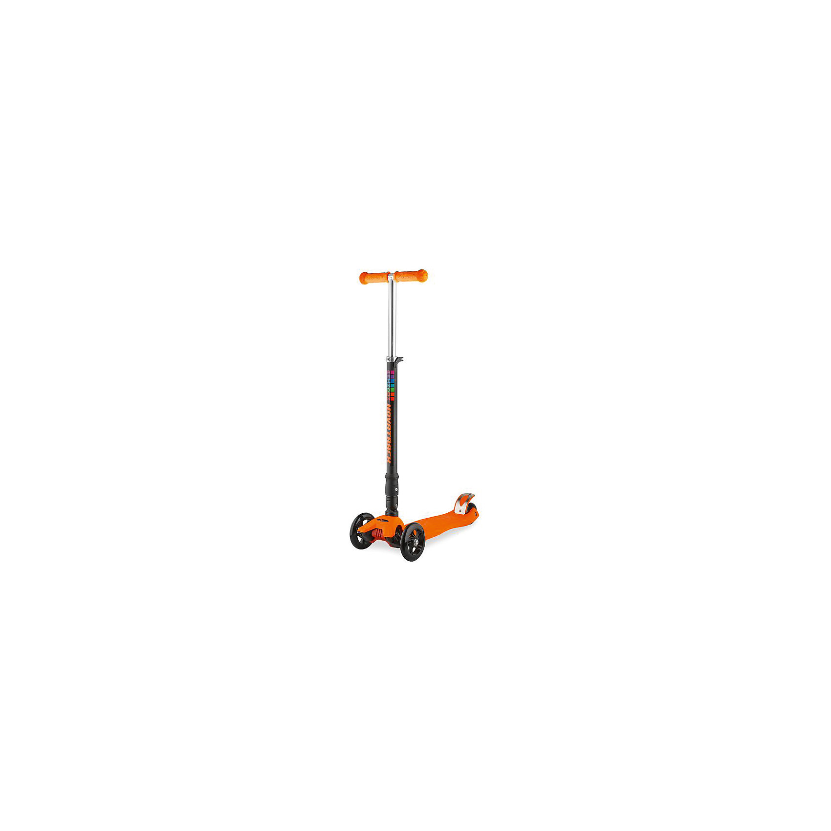 Самокат-кикборд подростковый RainBow, складной, 60 кг, оранжевый, NovatrackСамокаты<br>Характеристики товара:<br><br>• цвет: оранжевый<br>• возраст от 3 лет<br>• прорезиненные накладки на руле<br>• максимальная нагрузка до 70 кг<br>• материал: пластик, алюминий<br>• материал колес полиуретан<br>• подшипник АВЕС 7<br>• диаметр передних колес: 12 см<br>• диаметр заднего колеса: 8 см<br>• высота руля 83 см<br>• размер упаковки 60х28х15 см<br>• вес упаковки 3,245 кг<br>• страна производитель: Китай<br><br>Самокат-кикборд подростковый складной, голубой, RainBow Novatrack понравится любителям активного времяпрепровождения на свежем воздухе. Благодаря 2 передним колесам самокат отличается хорошей устойчивостью. Самокат складывается, что позволяет переносить его, брать с собой в поездки и хранить дома, не занимая много места.<br><br>Самокат изготовлен из прочного алюминия, дека выполнена из ударопрочного пластика. Специальные прорезиненные накладки на руле не дают ладошкам соскальзывать во время катания. Подшипник обеспечивает бесшумную и ровную езду.<br><br>Самокат-кикборд подростковый складной, голубой, RainBow Novatrack  можно приобрести в нашем интернет-магазине.<br><br>Ширина мм: 600<br>Глубина мм: 150<br>Высота мм: 280<br>Вес г: 3245<br>Возраст от месяцев: 36<br>Возраст до месяцев: 2147483647<br>Пол: Унисекс<br>Возраст: Детский<br>SKU: 5528454