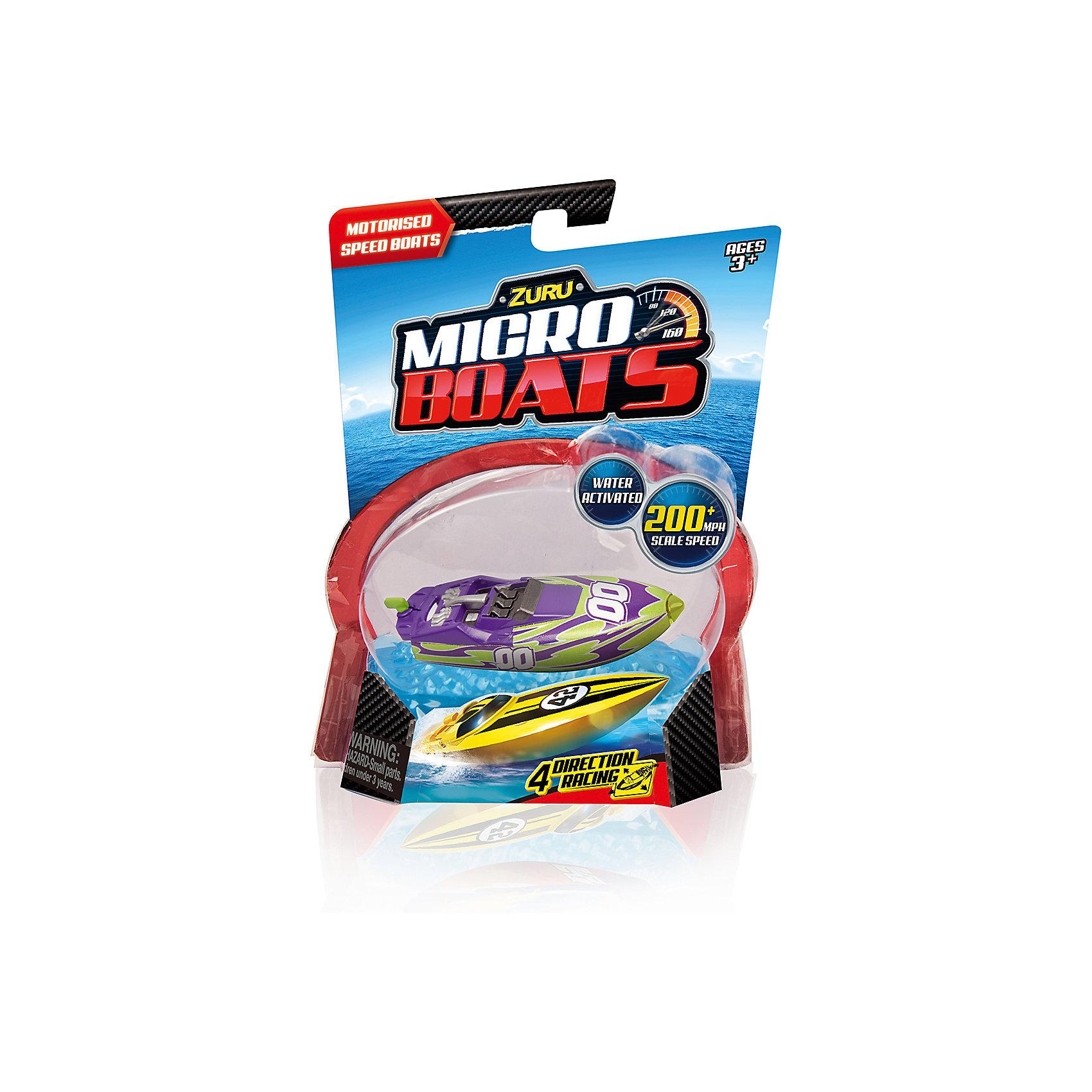 Роболодка, пурпурно-зеленая, MICROBOATS, ZuruЗаводные игрушки<br>Характеристики товара:<br><br>• возраст от 3 лет<br>• материал: пластик<br>• длина лодки 10 см<br>• тип батареек: 2 х AG13 / LR44 (миниатюрные)<br>• наличие батареек: входят в комплект<br>• размер упаковки 20х15х7,3 см<br>• вес упаковки 80 г.<br>• упаковка: блистер на картоне<br>• страна бренда: Новая Зеландия<br>• страна производитель: Китай<br><br>Роболодка Microboats Zuru пурпурно-зелёная разнообразит купание малыша в ванной. При спуске лодки на воду срабатывает сенсорный датчик, и лодочка начинает плыть. Лодка умеет плавать в 4 разных направлениях, а при столкновении с препятствием начинает плыть назад. Малыш может брать лодку в собой не только в ванную, но и запускать ее в бассейне или водоеме, чтобы весело провести время. <br><br>Игрушка изготовлена из качественного безопасного пластика с использованием нетоксичных красителей. Работает от 2 батареек LR44 (в комплекте).<br><br>Роболодку Microboats Zuru можно приобрести в нашем интернет-магазине.<br><br>Ширина мм: 73<br>Глубина мм: 150<br>Высота мм: 200<br>Вес г: 80<br>Возраст от месяцев: 36<br>Возраст до месяцев: 2147483647<br>Пол: Унисекс<br>Возраст: Детский<br>SKU: 5528472