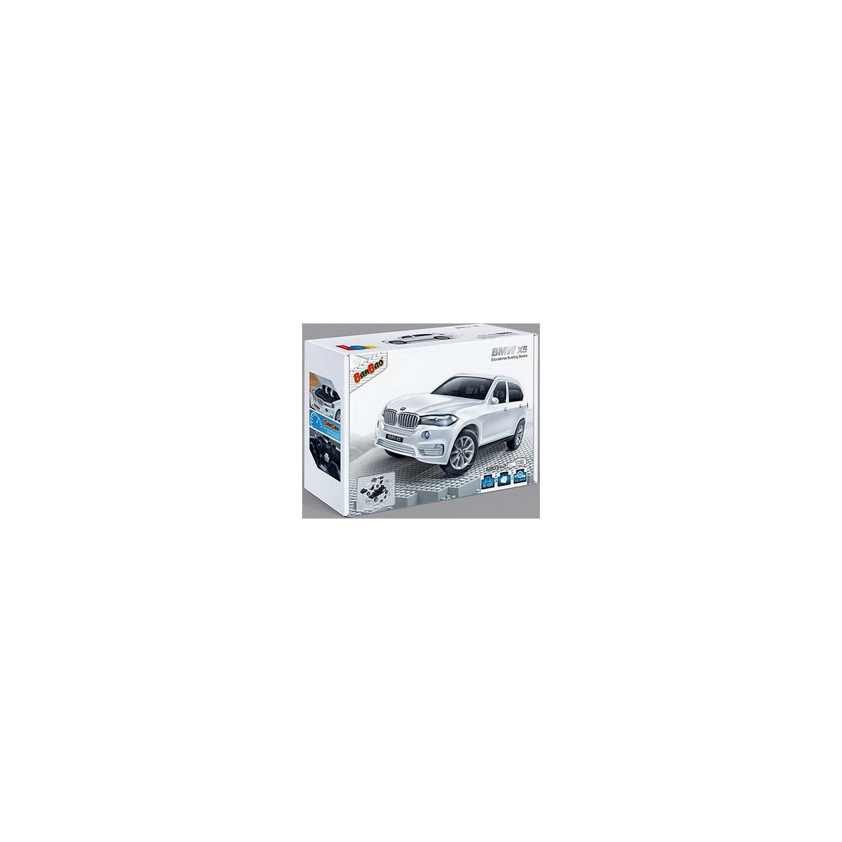 Конструктор Машина BMW X5, белый цвет, 1:28, BanBaoПластмассовые конструкторы<br>Конструктор Машина BMW X5 (белый цвет), масштаб 1:28, 26.5х18.5х8см<br><br>Ширина мм: 265<br>Глубина мм: 185<br>Высота мм: 80<br>Вес г: 500<br>Возраст от месяцев: 60<br>Возраст до месяцев: 1188<br>Пол: Мужской<br>Возраст: Детский<br>SKU: 5528491