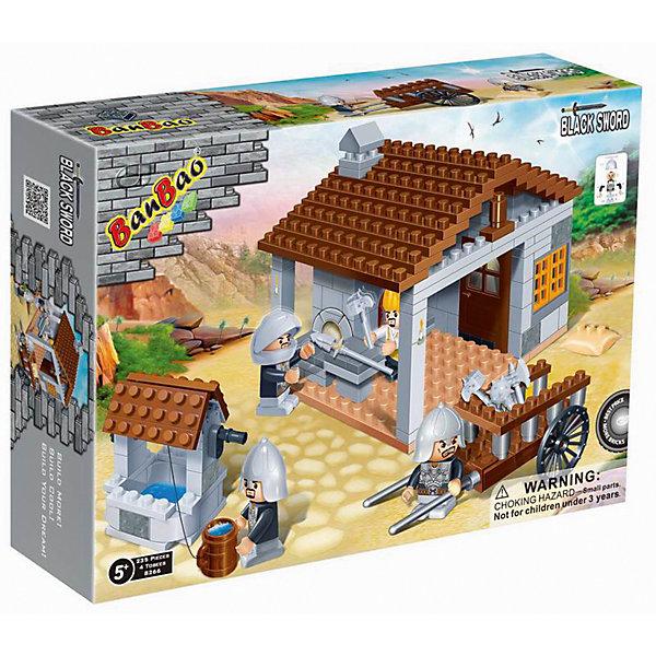 Конструктор Кузница, 235 дет., BanBaoПластмассовые конструкторы<br>Характеристики:<br><br>• тип игрушки: конструктор;<br>• возраст: от 4 лет;<br>• количество деталей: 235 шт; <br>• размер:  33х24х7 см;<br>• бренд: BanBao;<br>• упаковка: картонная коробка;<br>• материал: пластик.<br><br>Конструктор «Кузница», 235 дет., BanBao познакомит ребенка с интересным занятием. В набор входят элементы в количестве 235 штук, которые легко стыкуются между собой креплению. Детали сделаны из нетоксичного пластика и отличаются высокой прочностью и износоустойчивостью.<br><br>Такой конструктор понравится любому ребёнку. Ведь благодаря пластмассовым деталям он сможет создать кузницу, играя с которой разовьёт усидчивость, воображение, внимательность, речь, а также фантазию, мелкую моторику пальцев и координацию движения рук.  Также в комплект входят игровые аксессуары, фигурки людей и подробная русскоязычная инструкция для сборки. <br><br>Занятия с конструктором развивают концентрацию внимания, усидчивость, логическое и пространственное мышление, а также совершенствуют моторику рук. Этот набор подойдет для детей от 4 лет и старше.<br><br>Конструктор «Кузница», 235 дет., BanBao можно купить в нашем интернет-магазине.<br><br>Ширина мм: 330<br>Глубина мм: 240<br>Высота мм: 70<br>Вес г: 569<br>Возраст от месяцев: 60<br>Возраст до месяцев: 1188<br>Пол: Мужской<br>Возраст: Детский<br>SKU: 5528529