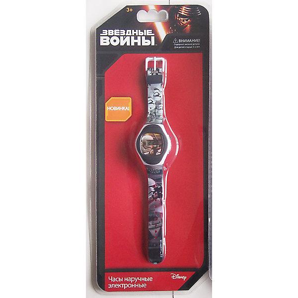 Часы наручные электронные Штормтрупер, Star WarsЗвездные войны<br>Электронные детские часы с корпусом и браслетом из пластика. Циферблат защищен от повреждений прочным пластиковым стеклом. Товар изготовлен полностью из пластмассы с питанием от химических источников тока, 1 сменный элемент включен в комплект (LR41 (AG3) 1.5 V). Рекомендуемый возраст: от 3 лет.<br><br>Ширина мм: 135<br>Глубина мм: 25<br>Высота мм: 310<br>Вес г: 53<br>Возраст от месяцев: 36<br>Возраст до месяцев: 72<br>Пол: Мужской<br>Возраст: Детский<br>SKU: 5529351