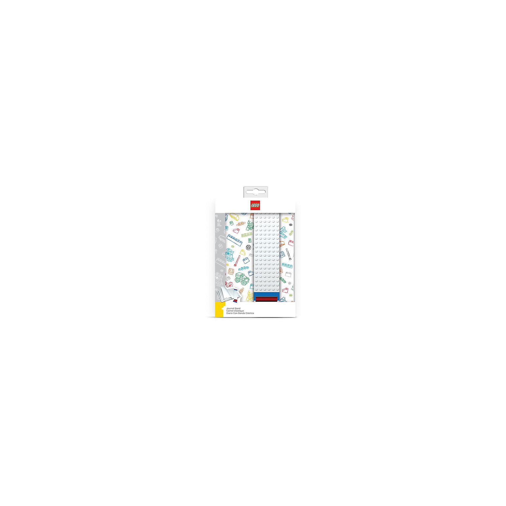 Записная книжка, 96 листов, линейка, с закладкой, цвет: белый, LEGOБумажная продукция<br>Оригинальную книгу для записей можно использовать в качестве ежедневника, блокнота для рисования, написания сочинений или важных событий. Закладка поможет не только найти необходимую запись, а также хранить ручку, маркер или карандаш вместе, ведь все канцелярские принадлежности скрепляются друг  с другом по принципу конструкторов LEGO.<br><br>Ширина мм: 150<br>Глубина мм: 32<br>Высота мм: 222<br>Вес г: 390<br>Возраст от месяцев: 36<br>Возраст до месяцев: 72<br>Пол: Унисекс<br>Возраст: Детский<br>SKU: 5529377